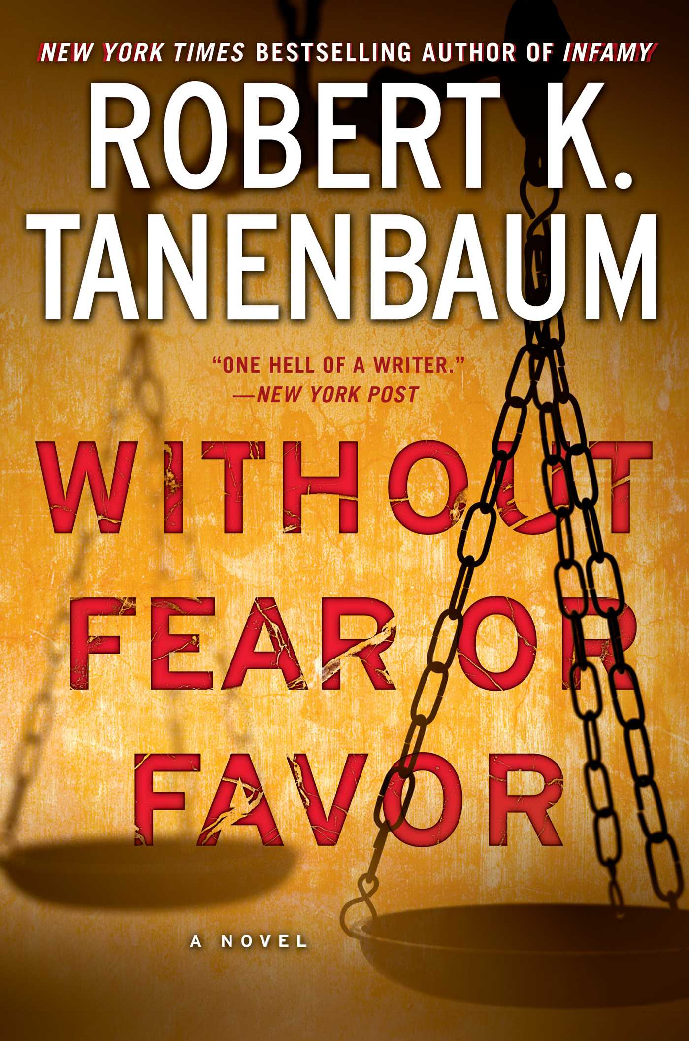 Without fear or favor 9781476793221 hr