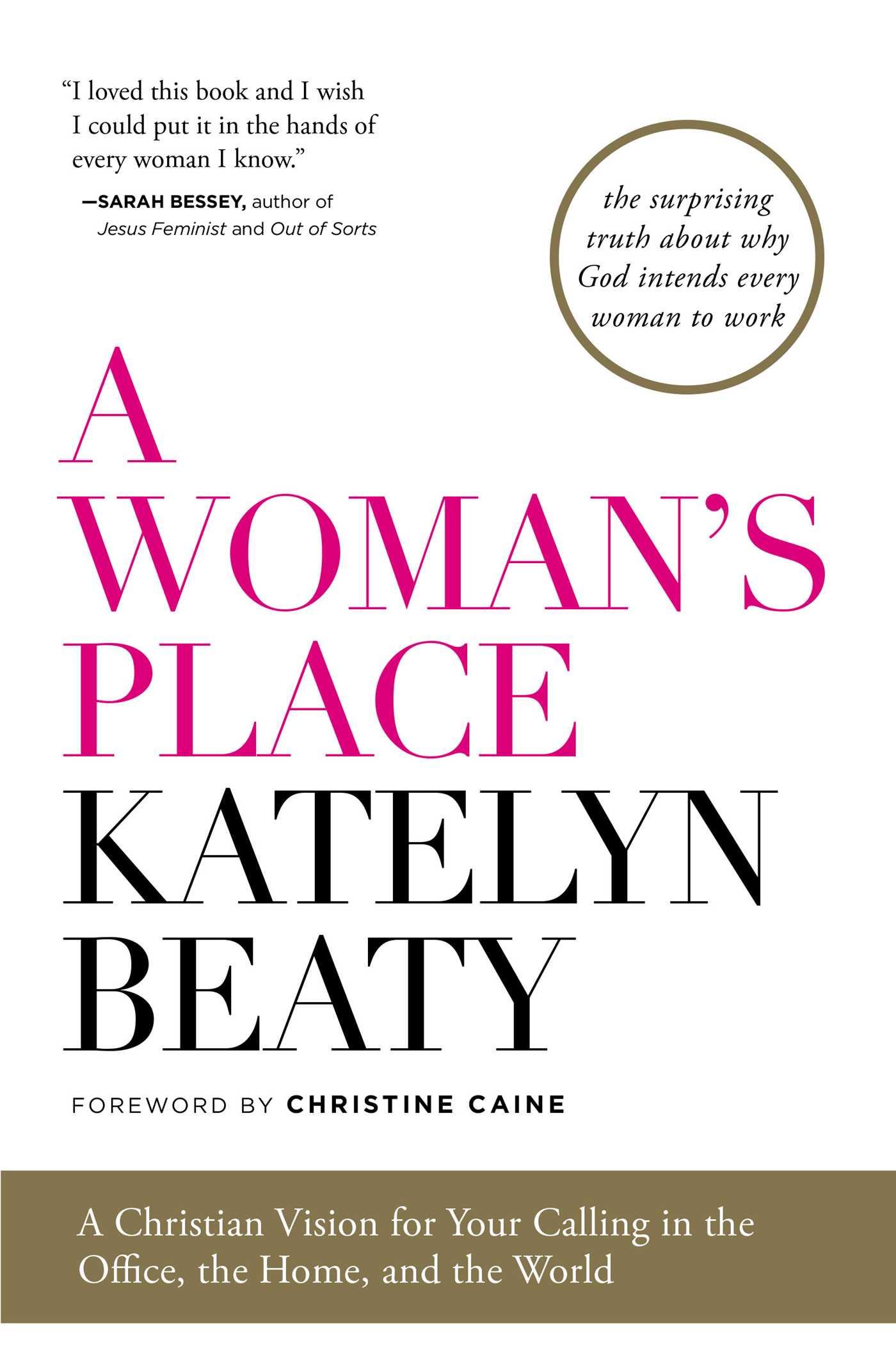 A womans place 9781476794150 hr