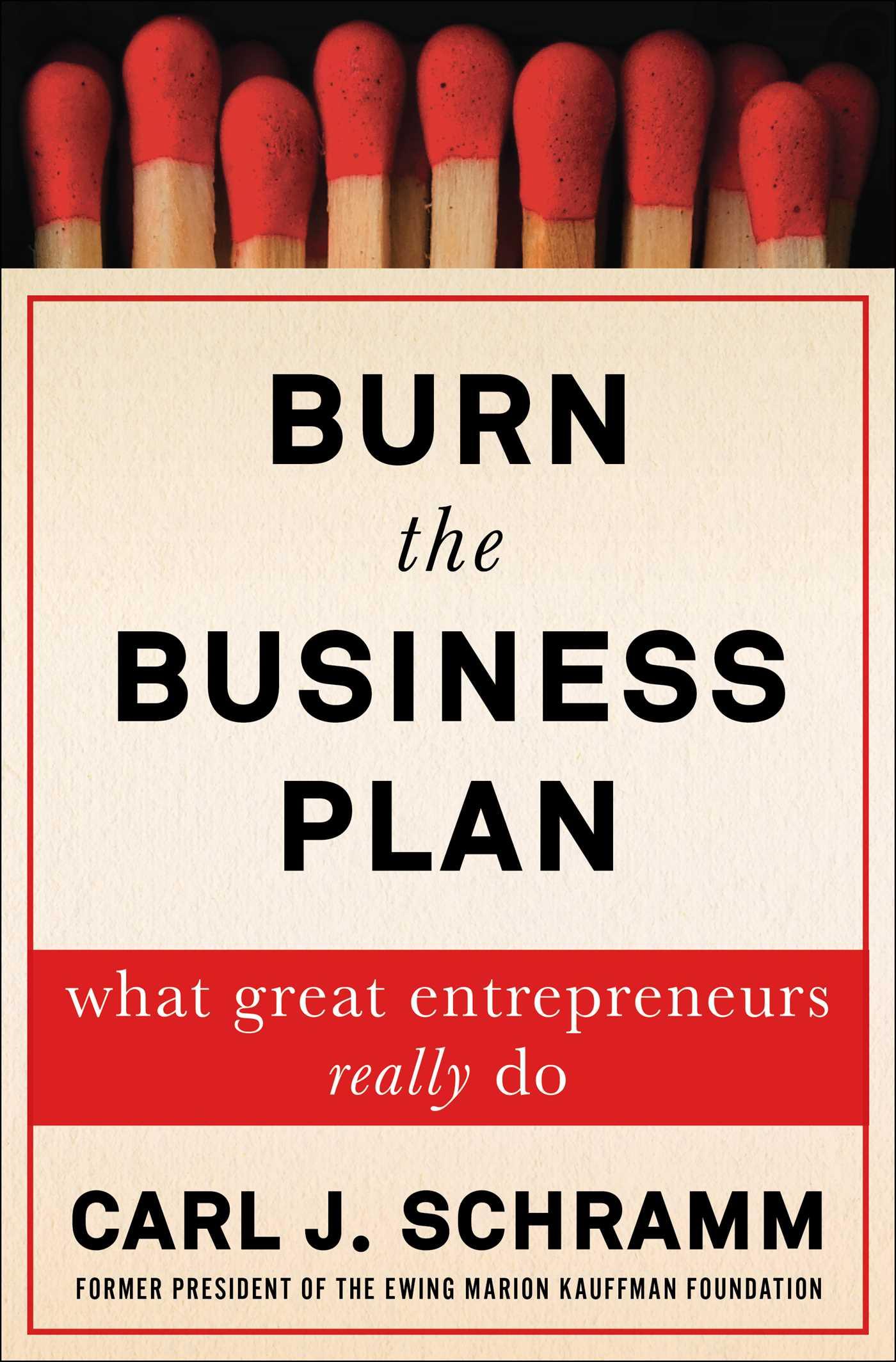 Burn the business plan 9781476794358 hr