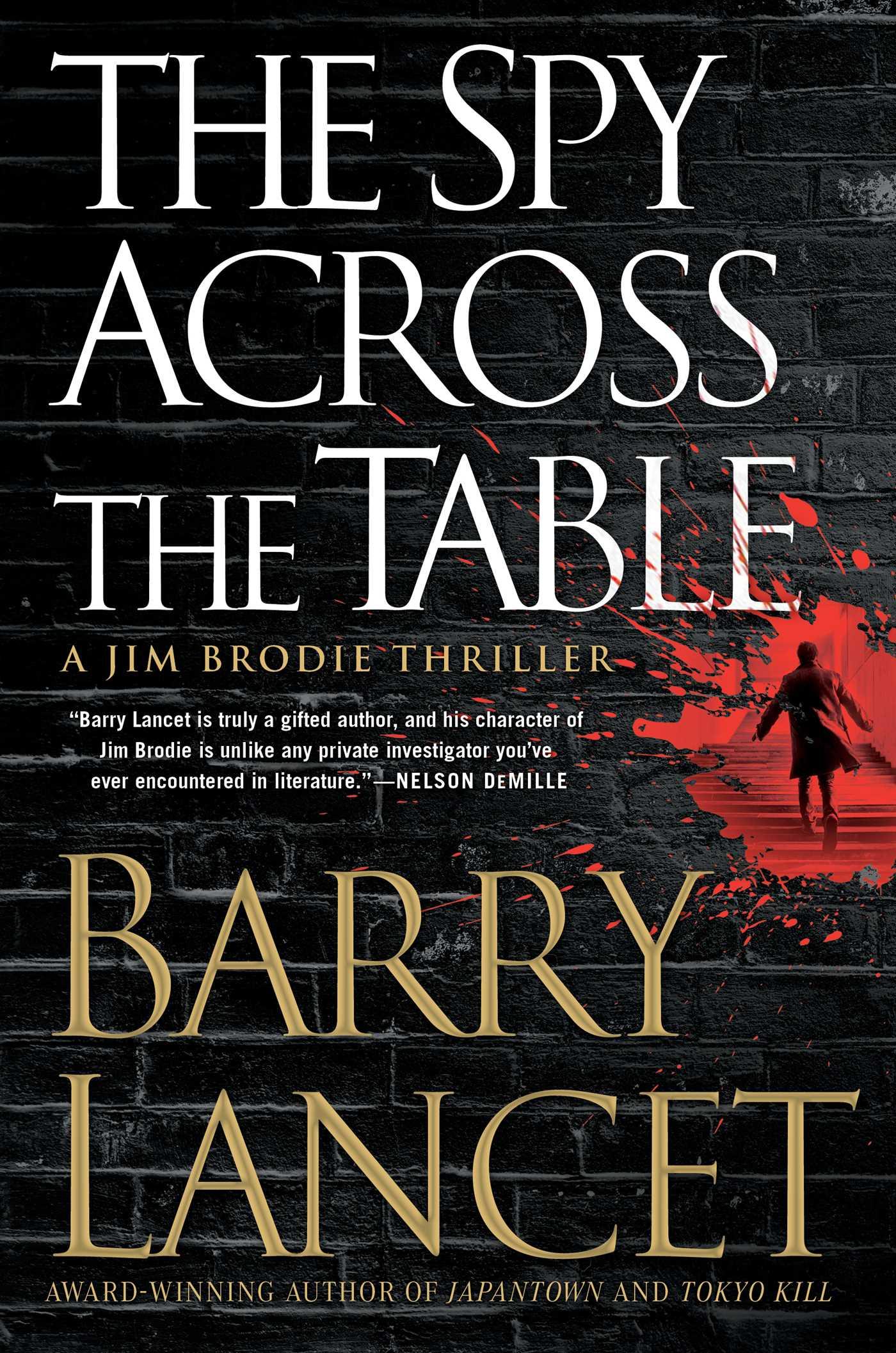 The spy across the table 9781476794914 hr