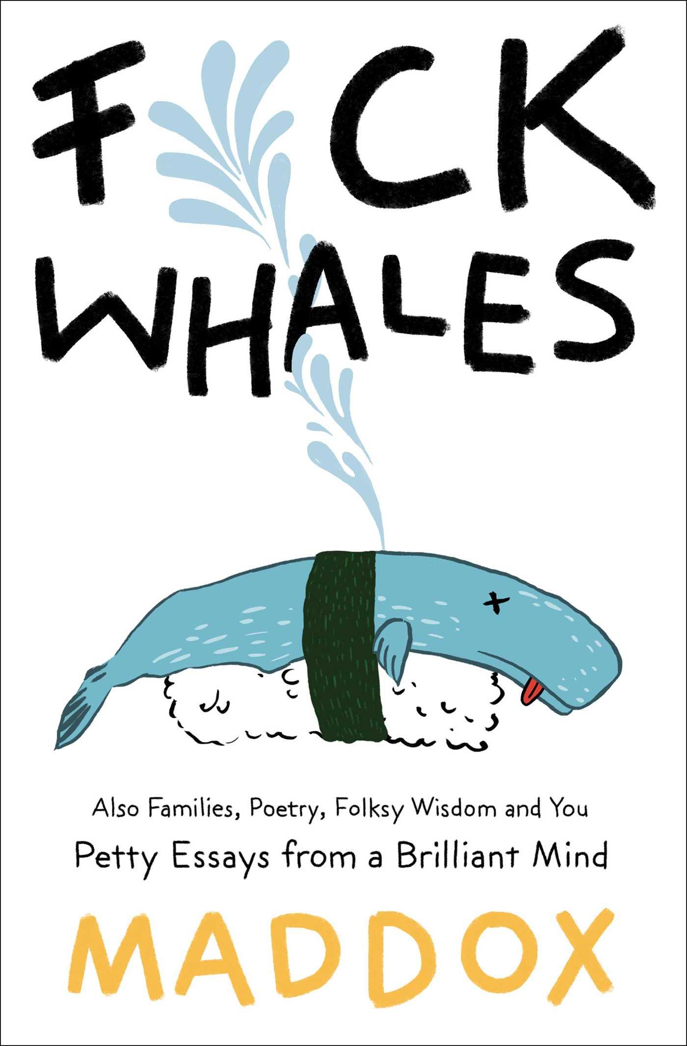 Fck whales 9781476794983 hr