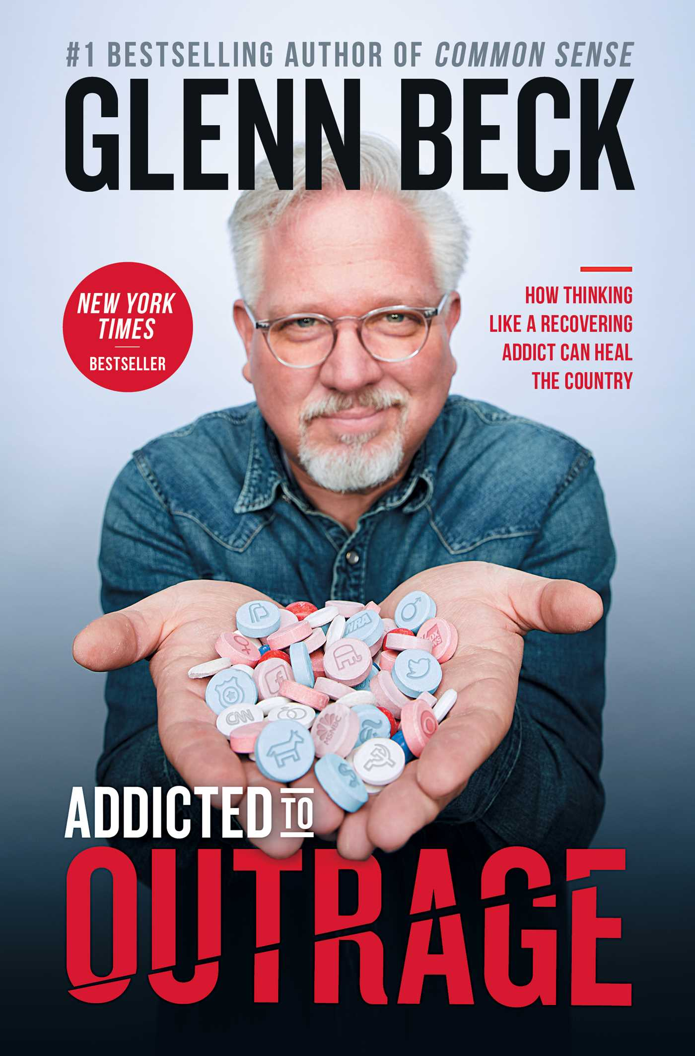 Image result for glenn beck addicted to outrage book