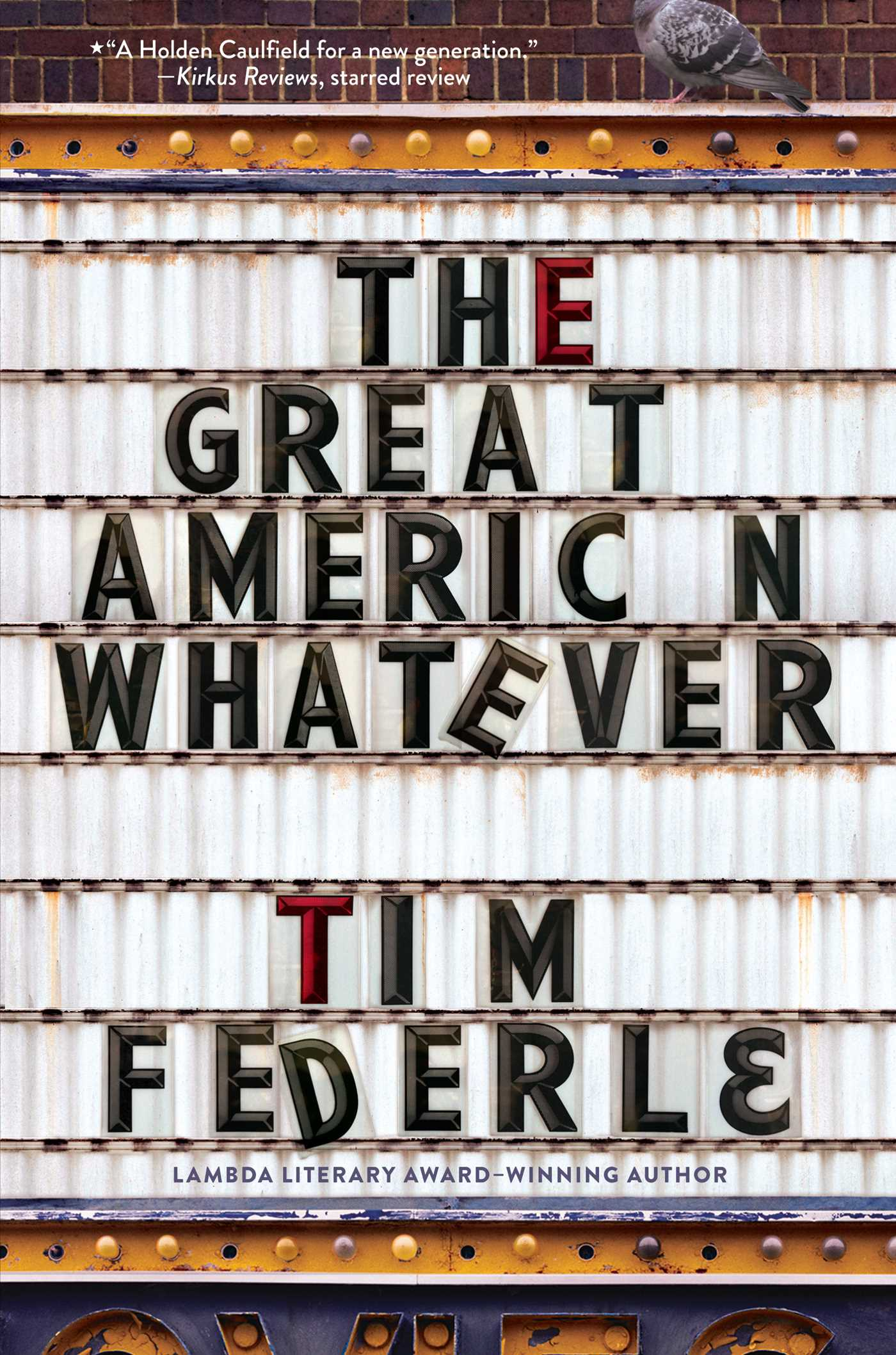 The great american whatever 9781481404099 hr