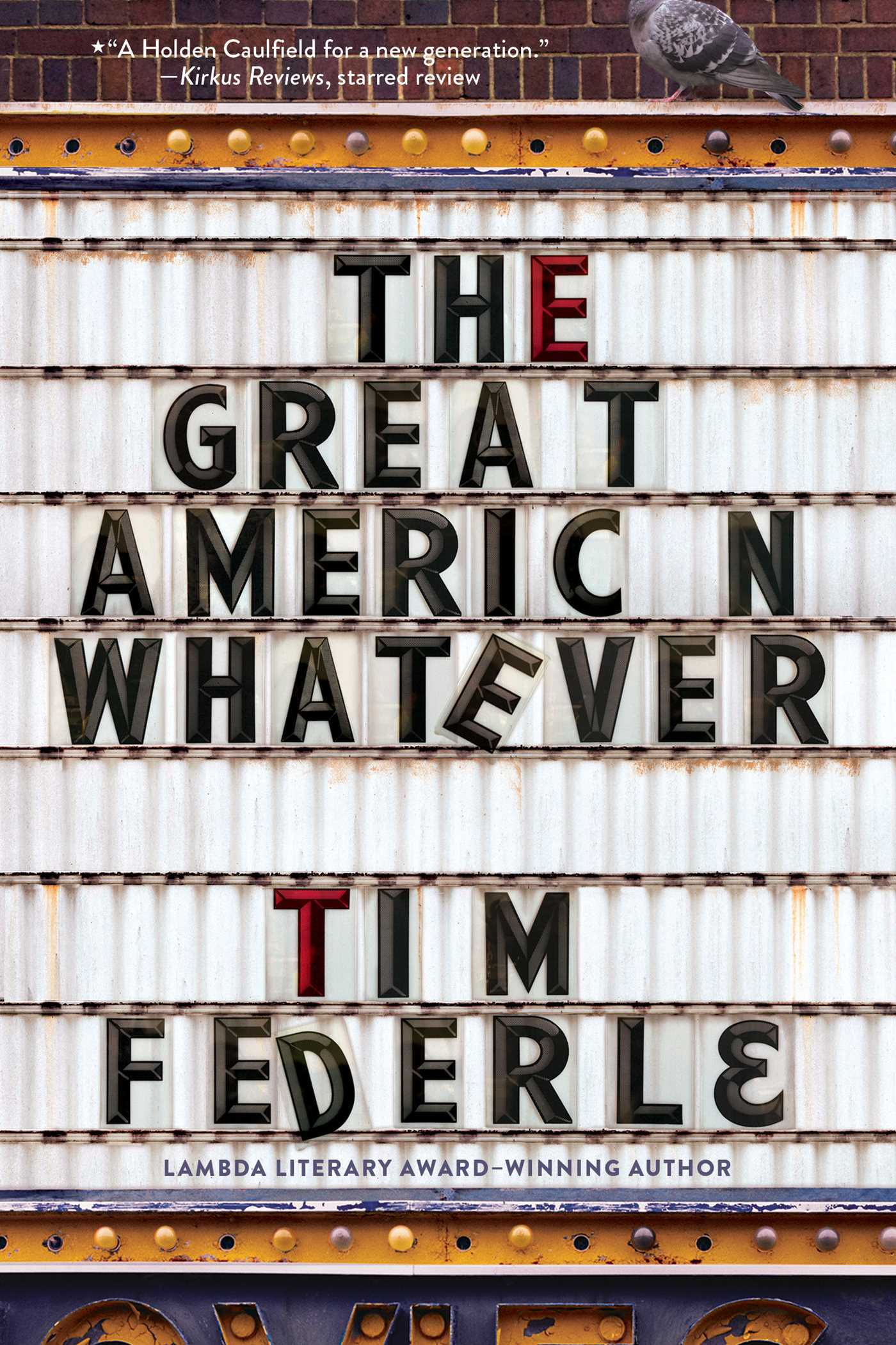 The great american whatever 9781481404105 hr