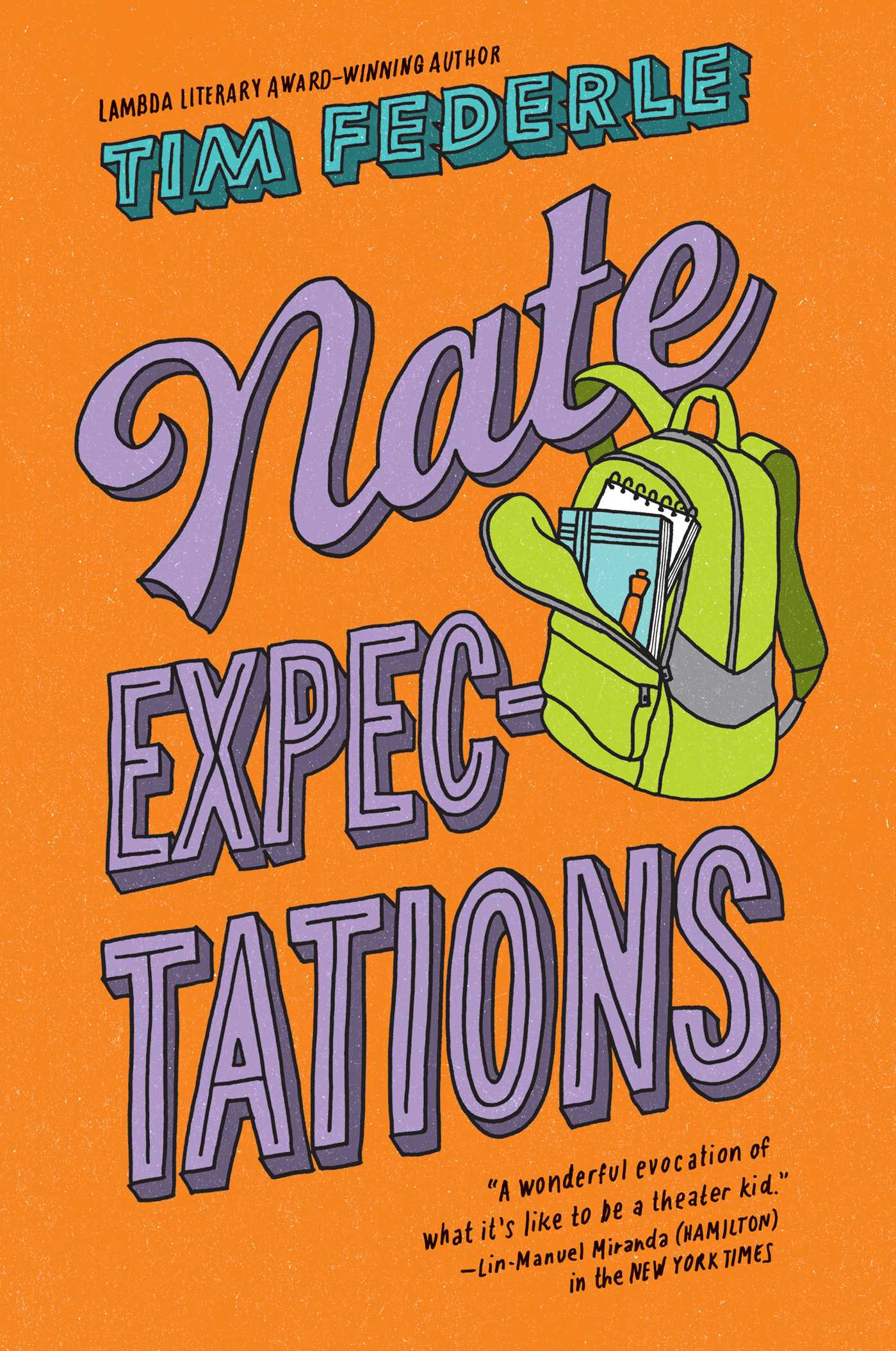 Nate expectations 9781481404129 hr