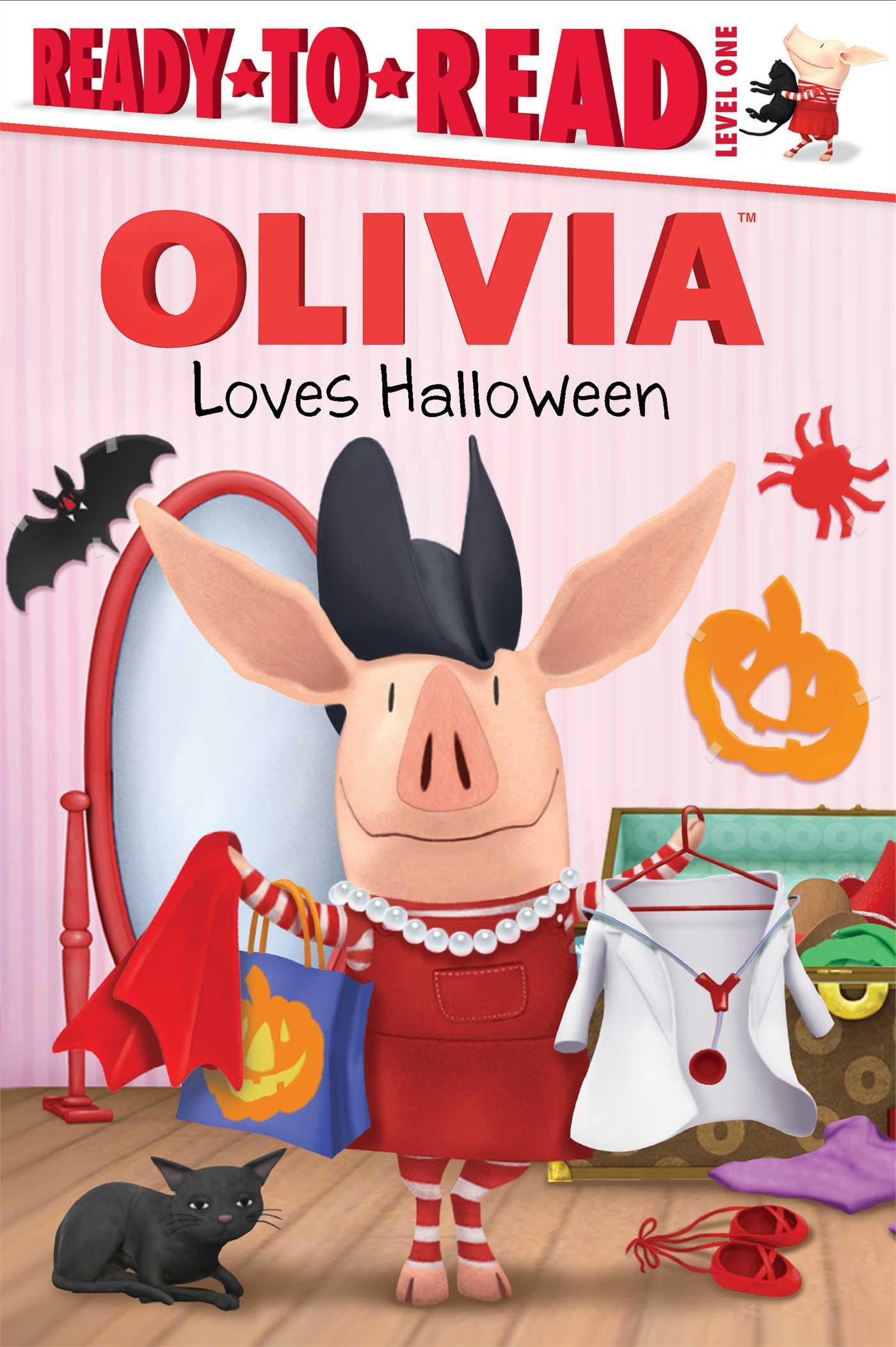 Olivia loves halloween 9781481404624 hr