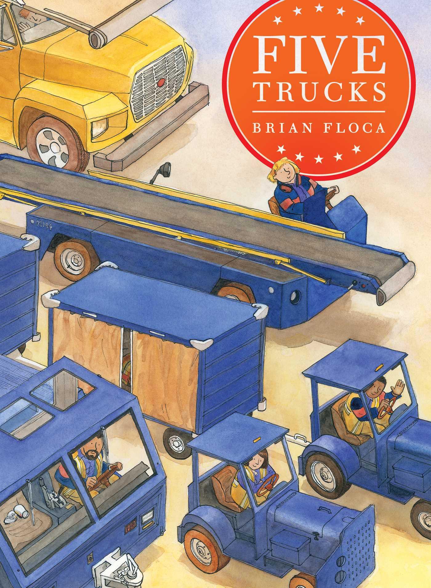 Five trucks 9781481405942 hr
