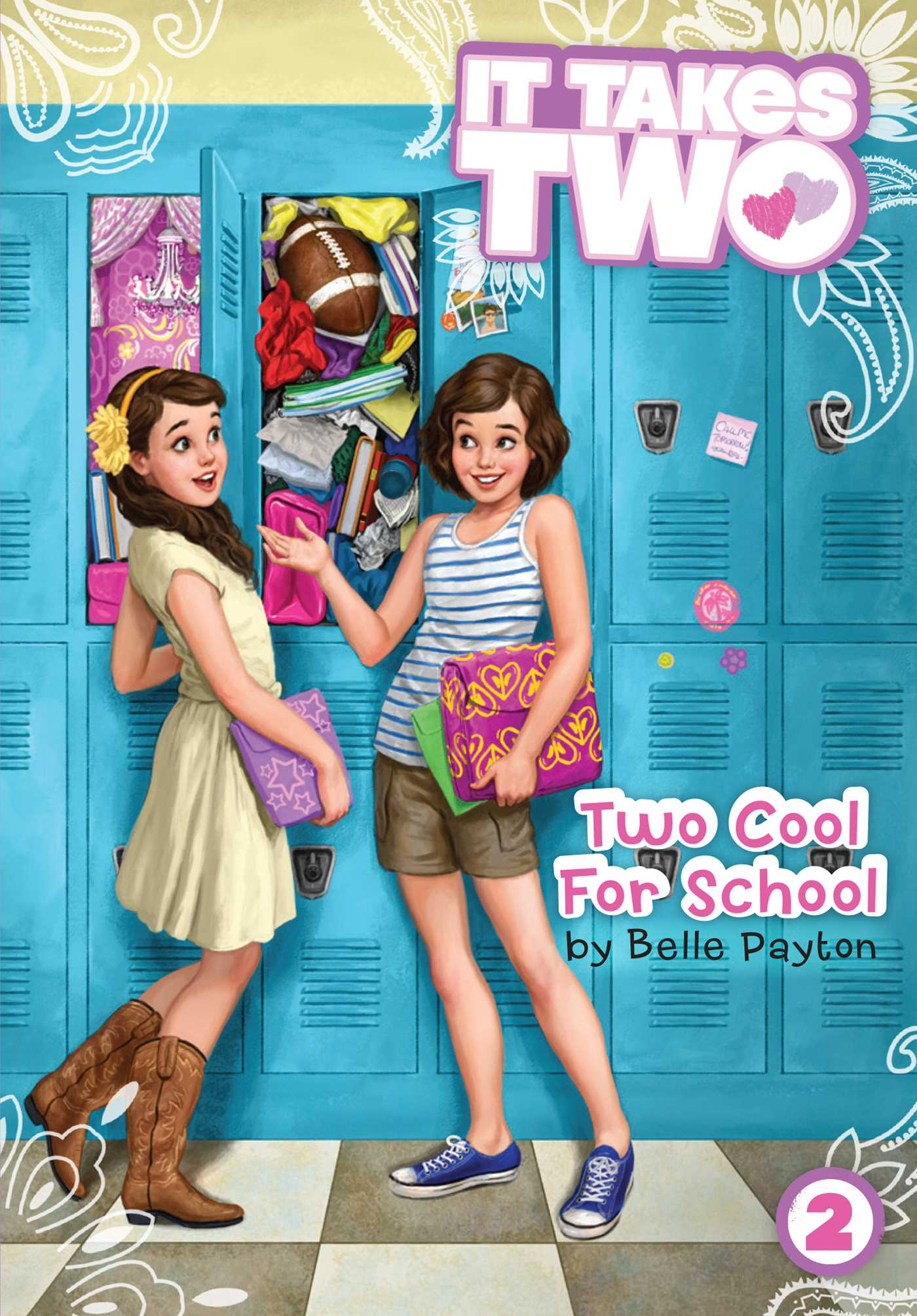 Two cool for school 9781481406444 hr