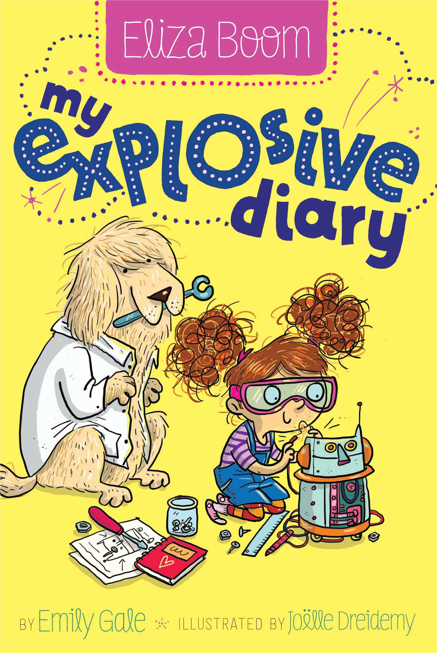 Book Cover Image (jpg): My Explosive Diary