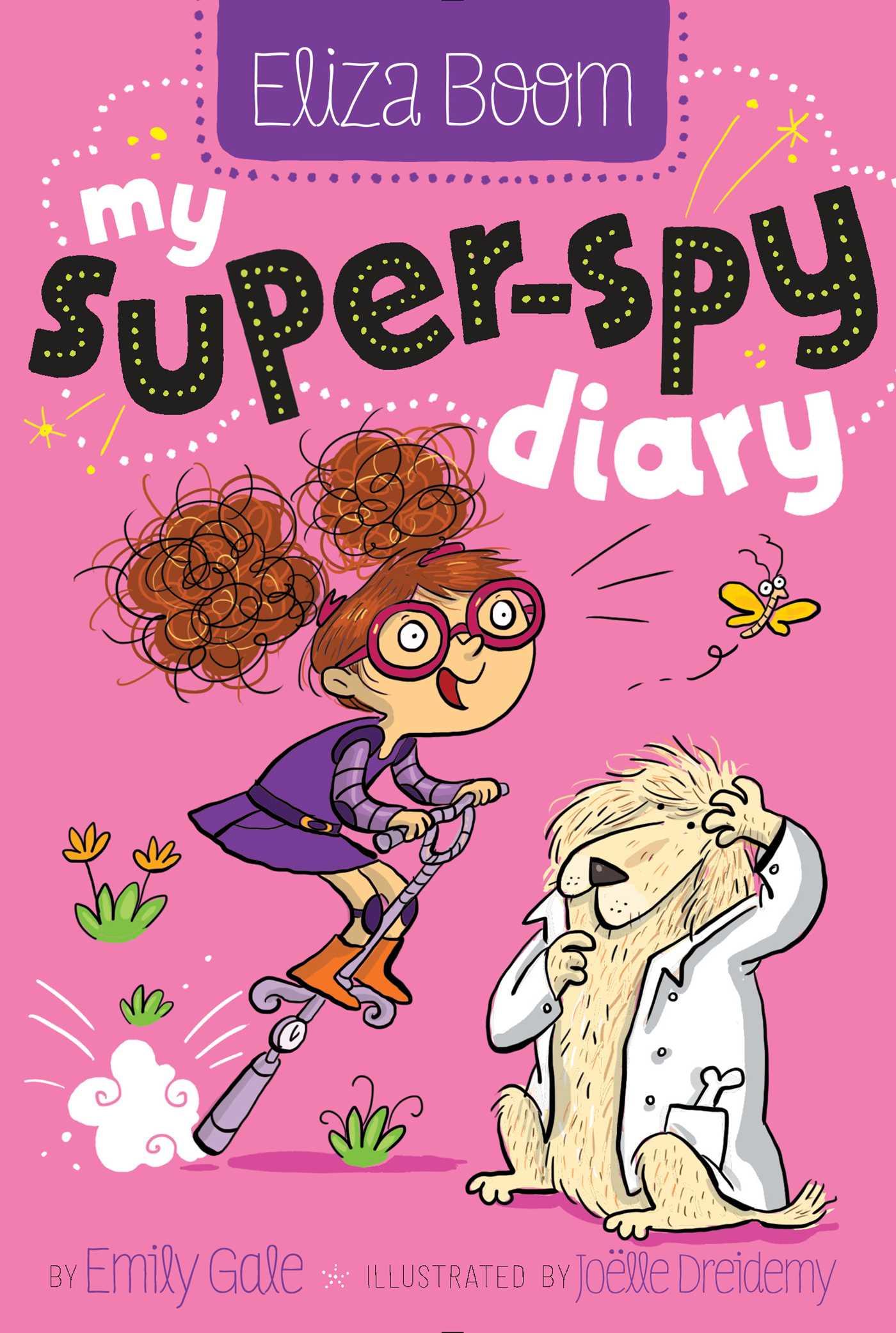 Book Cover Image (jpg): My Super-Spy Diary