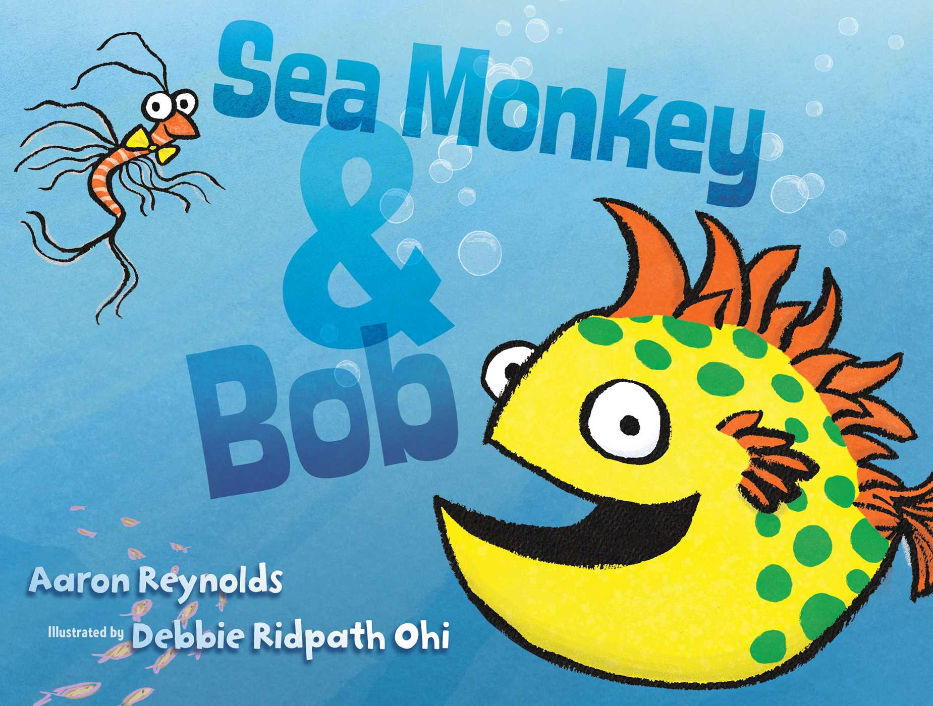 Sea monkey bob 9781481406772 hr