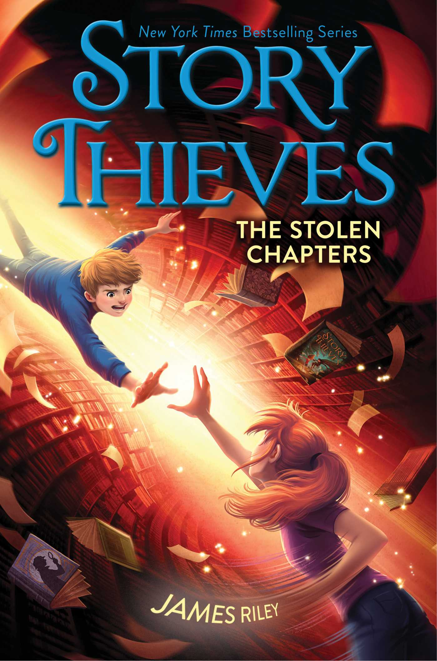 The stolen chapters 9781481409230 hr