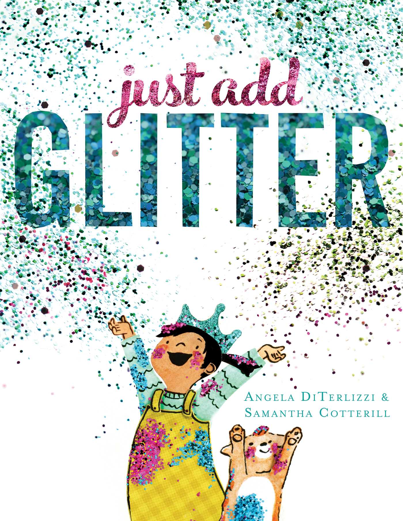 Just add glitter 9781481409674 hr