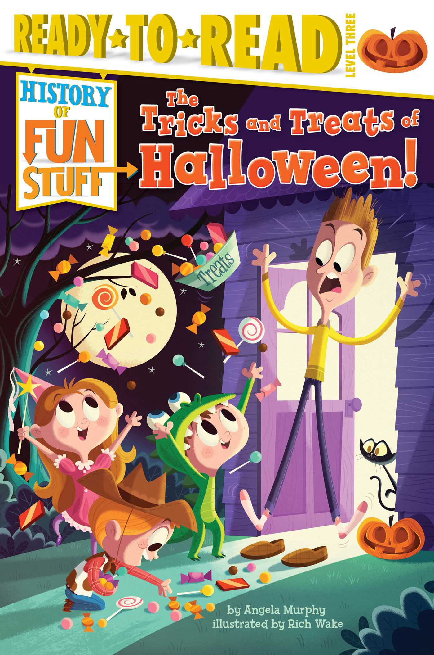 The tricks and treats of halloween 9781481409803 hr
