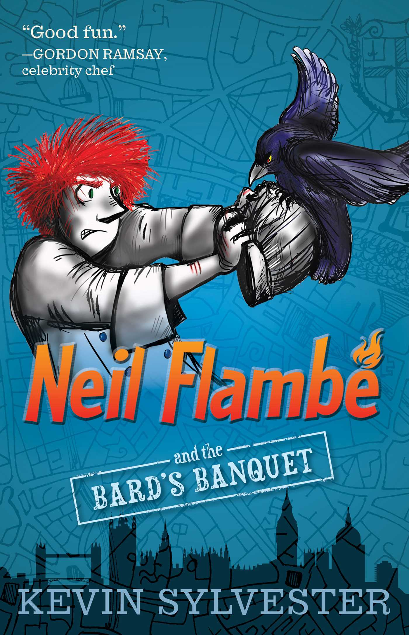 Neil flambe and the bards banquet 9781481410403 hr