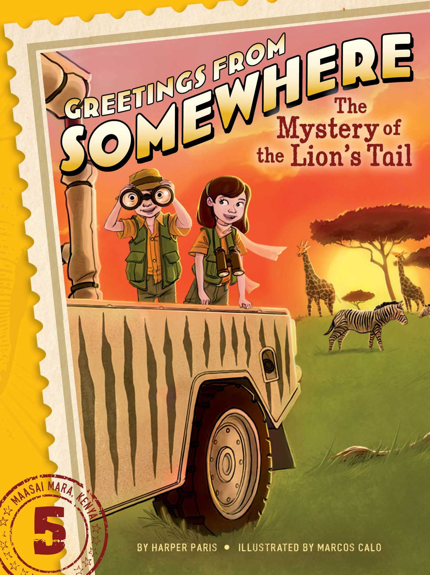 The mystery of the lions tail 9781481414661 hr