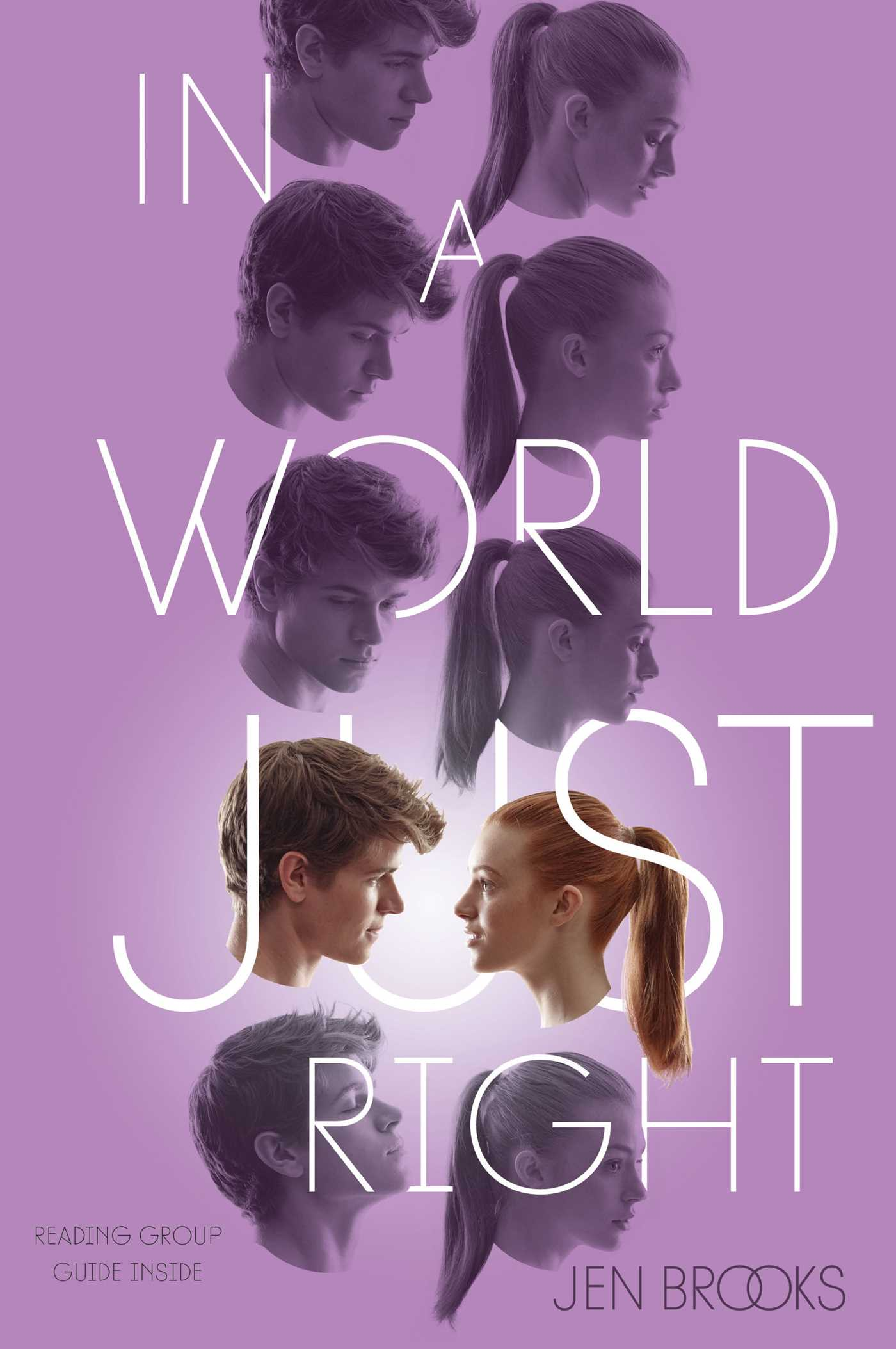 In a world just right 9781481416610 hr