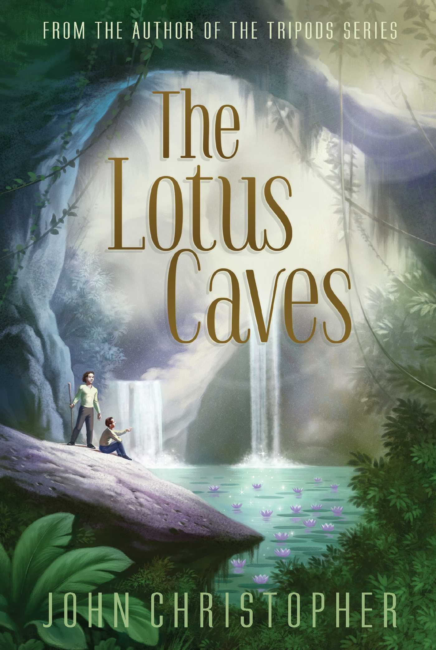 Book Cover Image (jpg): The Lotus Caves