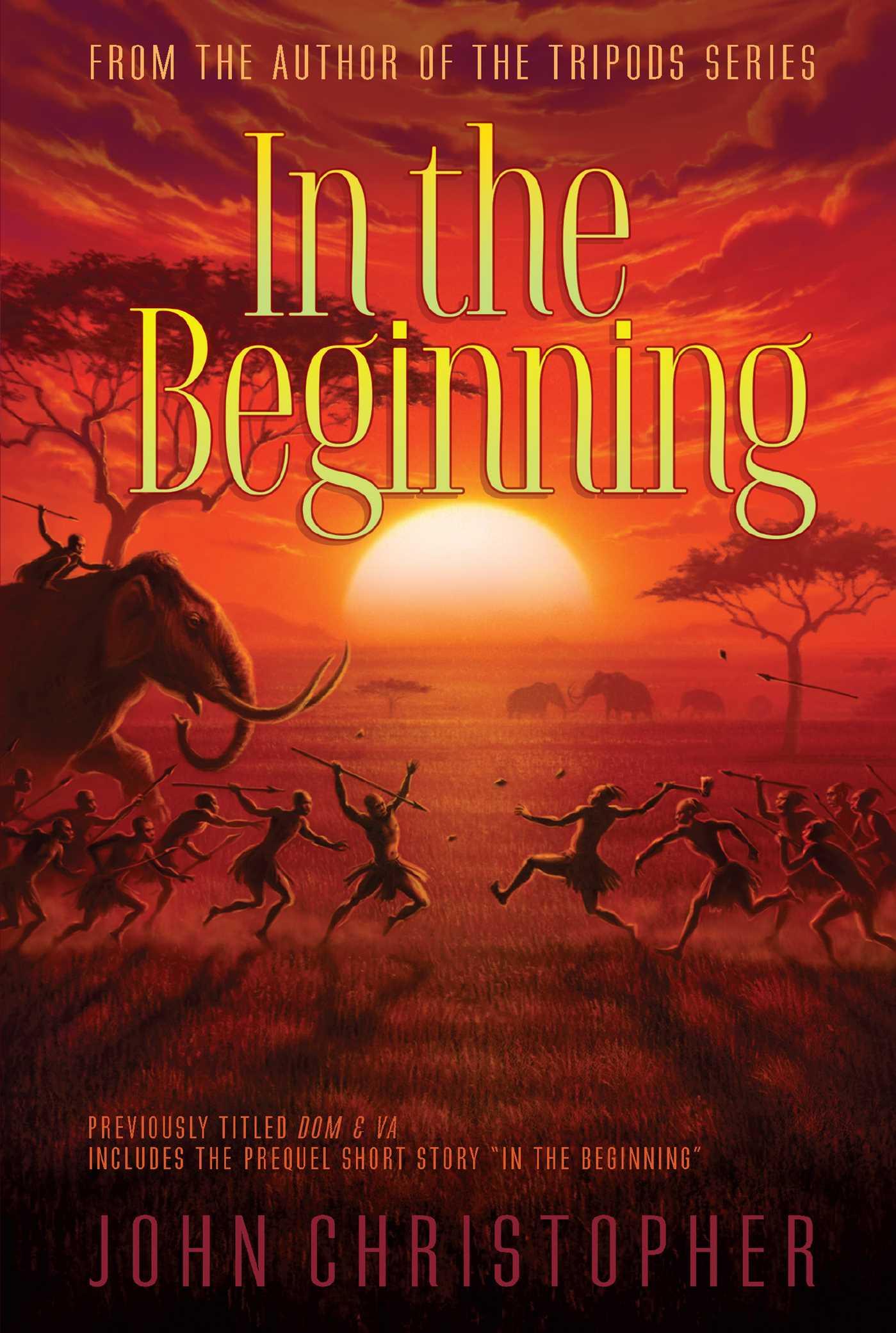 In the beginning 9781481420037 hr