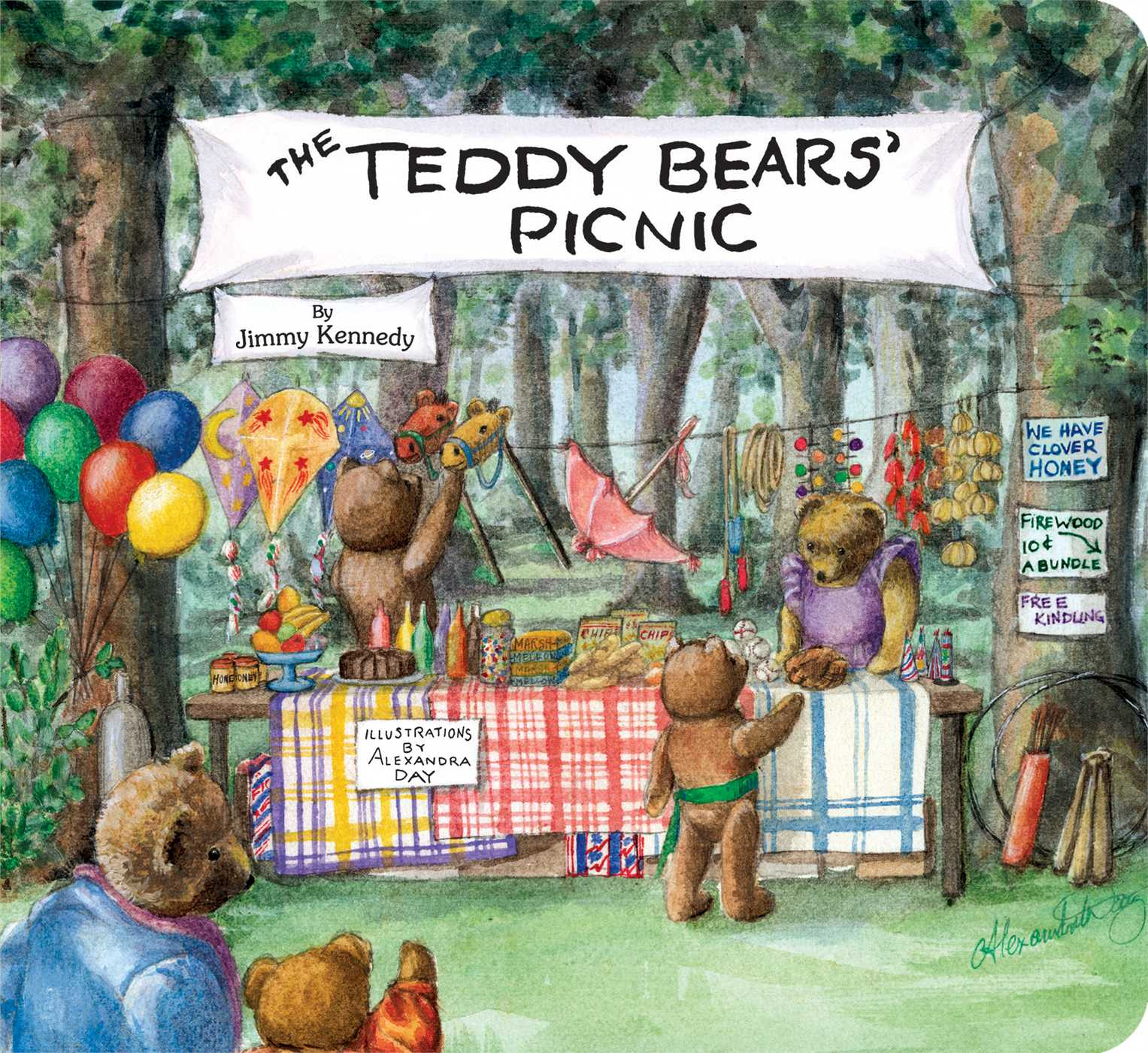 The Teddy Bears Picnic Book By Jimmy Kennedy Alexandra