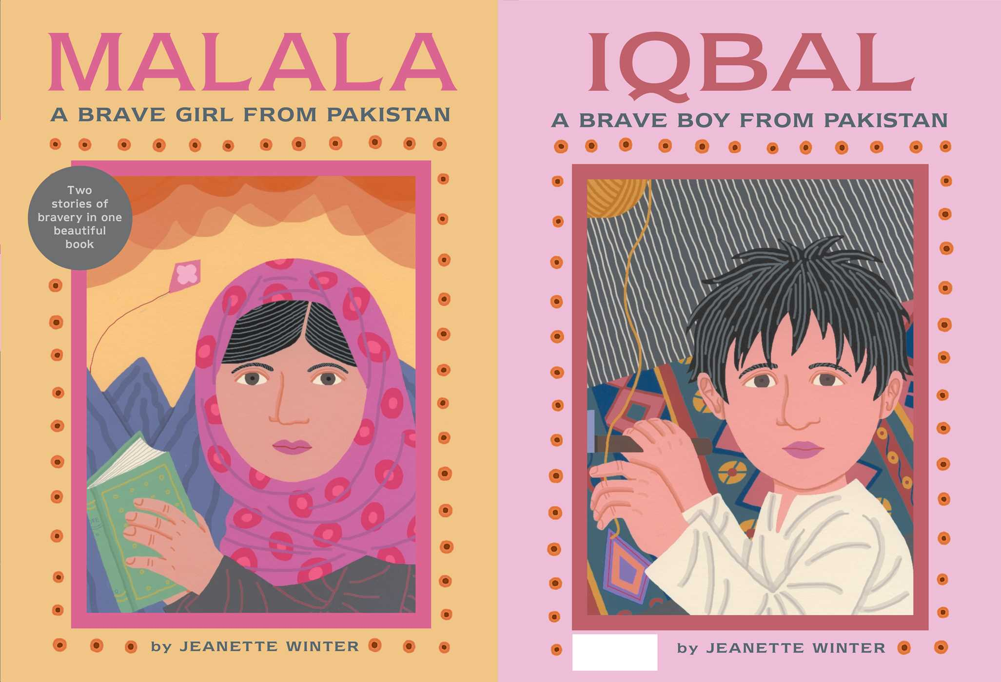 Malala A Brave Girl From Pakistaniqbal A Brave Boy From Pakistan