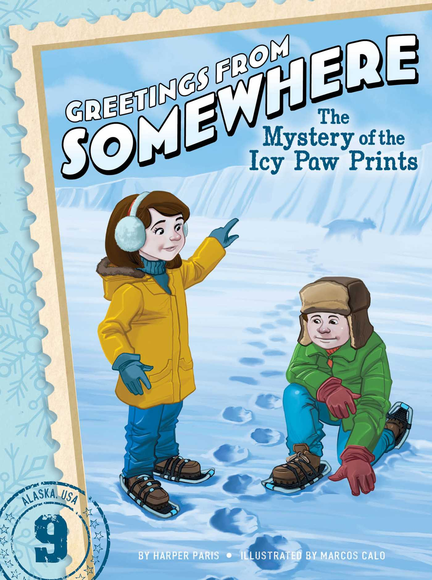 The Mystery Of The Icy Paw Prints Book By Harper Paris Marcos