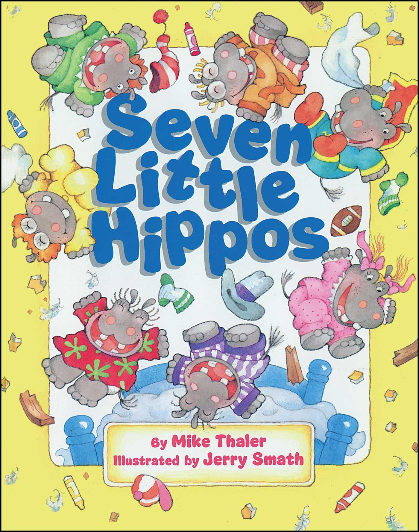 Seven little hippos 9781481425414 hr