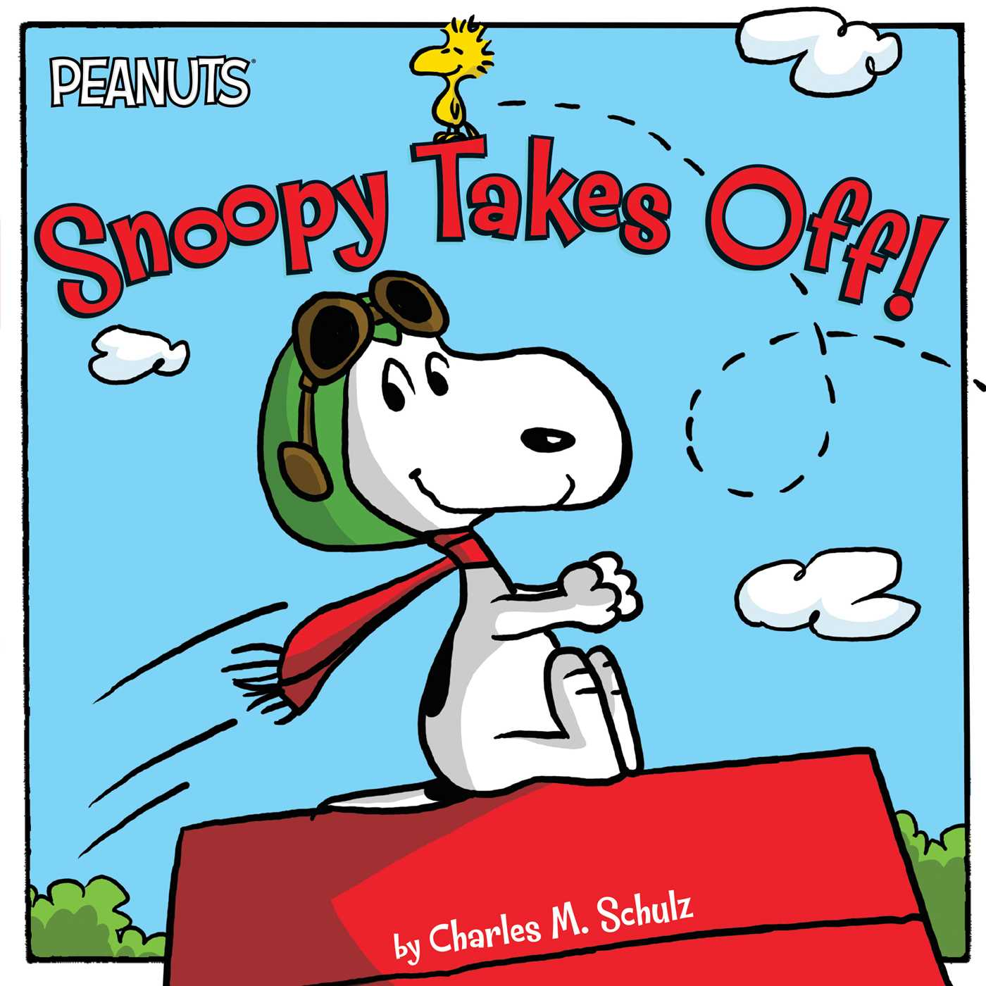 Snoopy takes off 9781481425551 hr