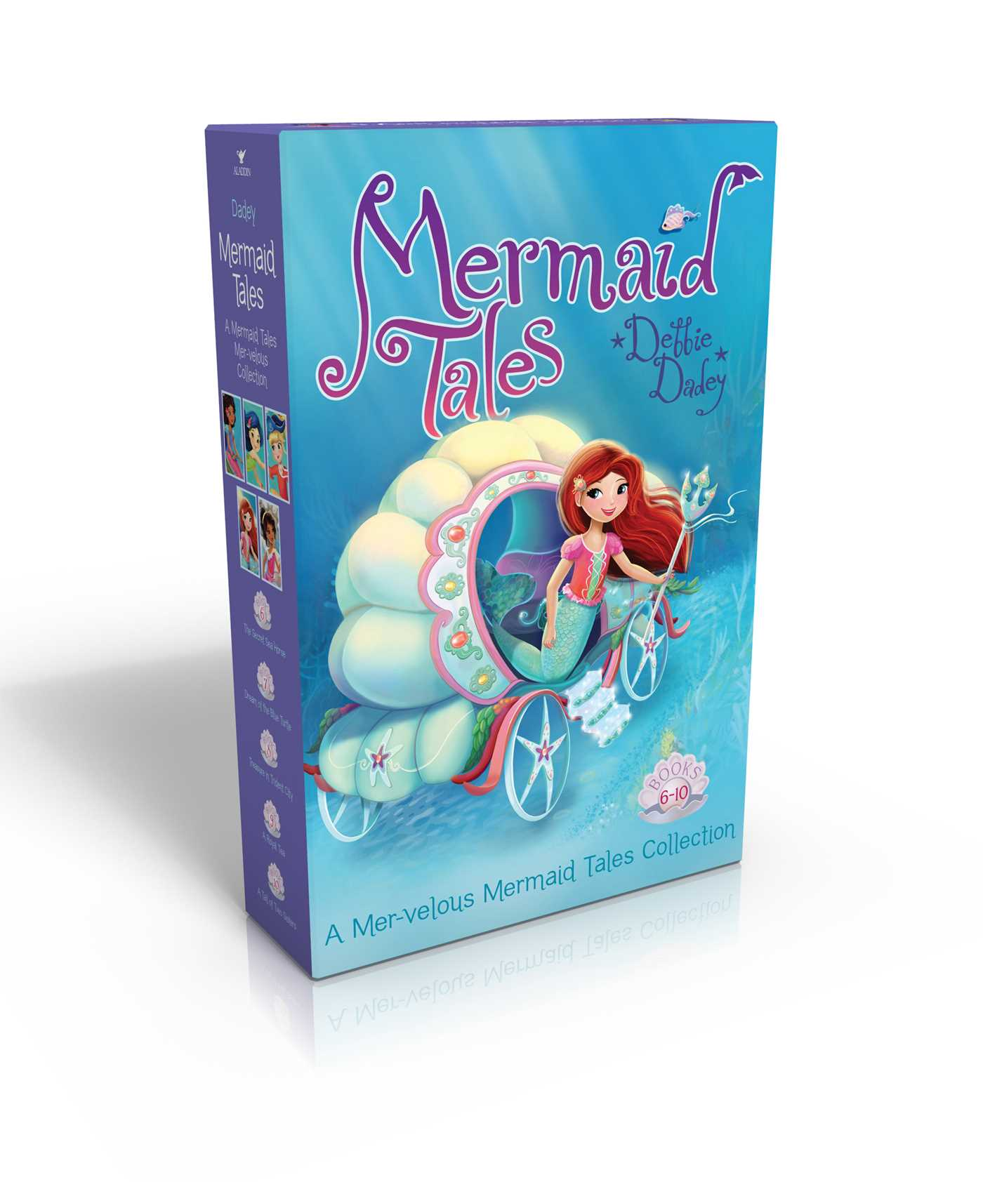 Mermaid tales mer velous collection books 6 10 9781481425667 hr