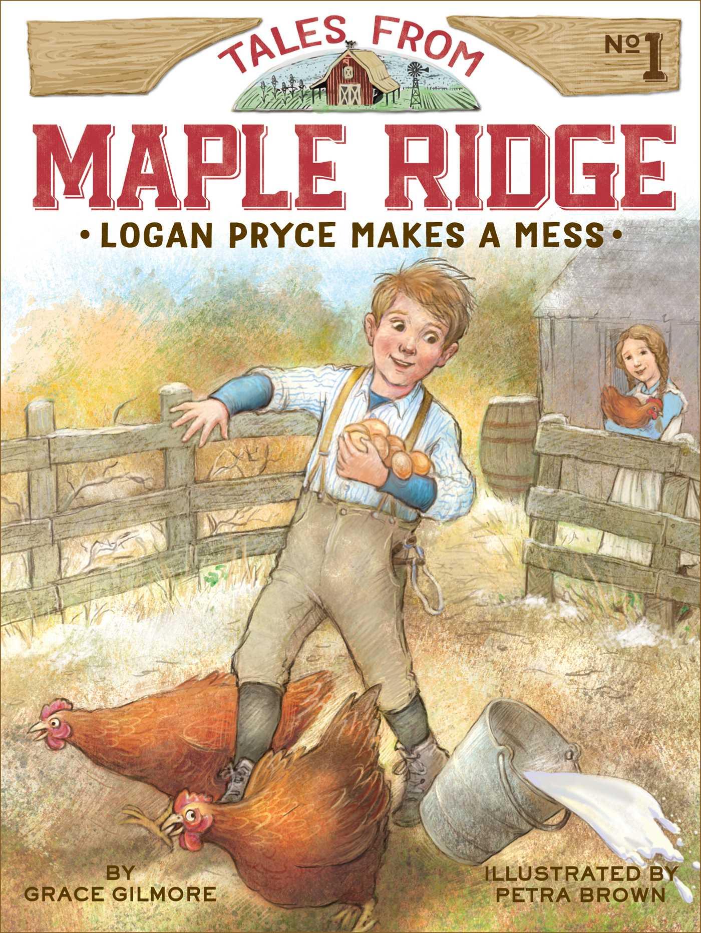Logan pryce makes a mess 9781481426268 hr