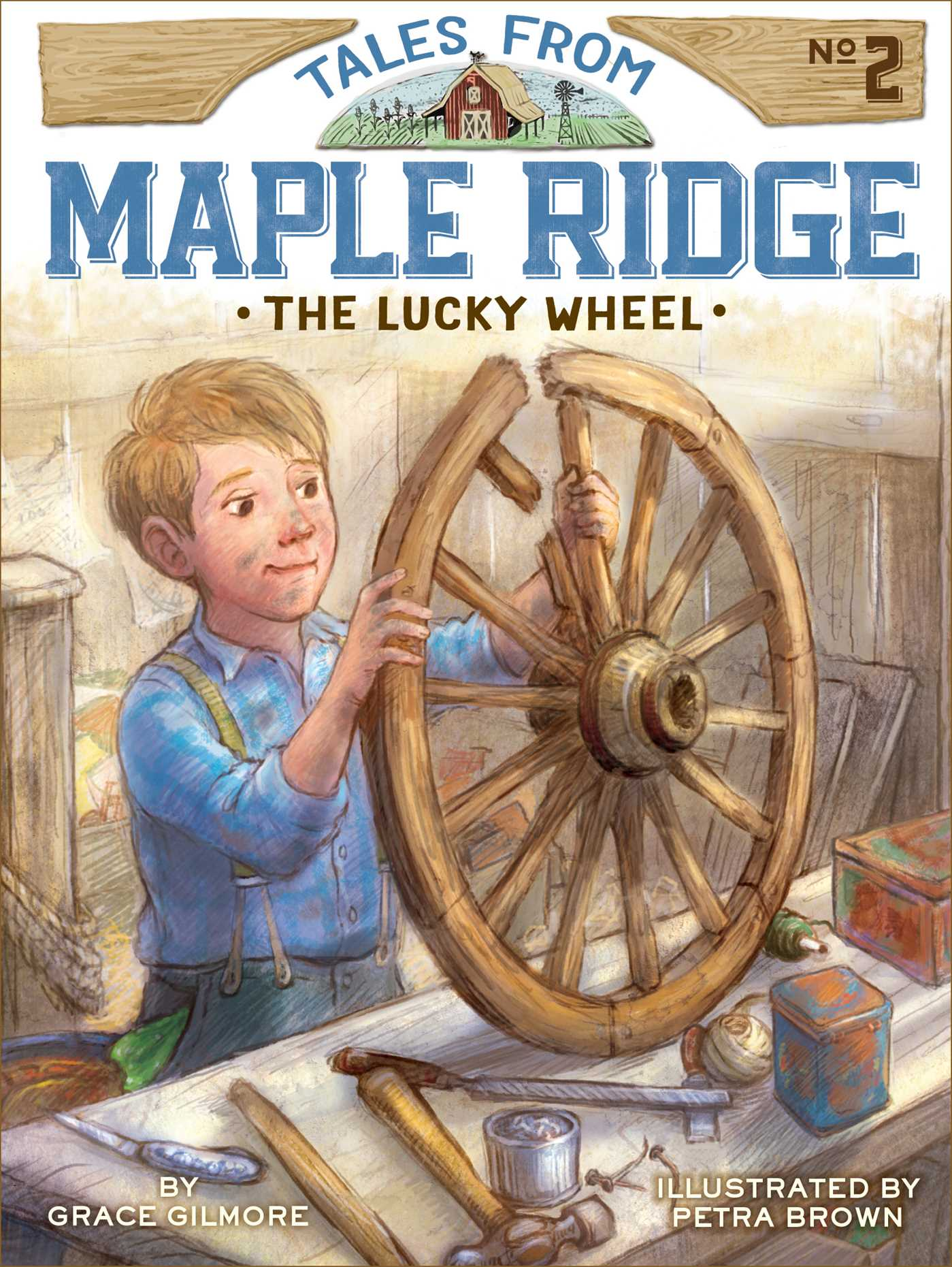 The lucky wheel 9781481426299 hr