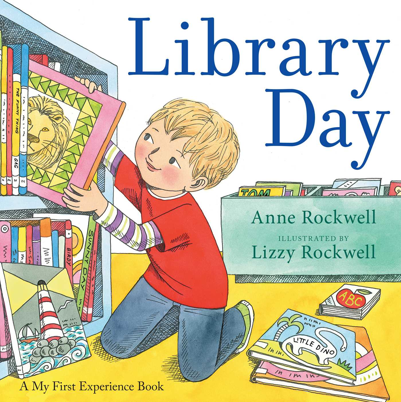 Library day book by anne rockwell lizzy rockwell official library day 9781481427326 hr fandeluxe Choice Image