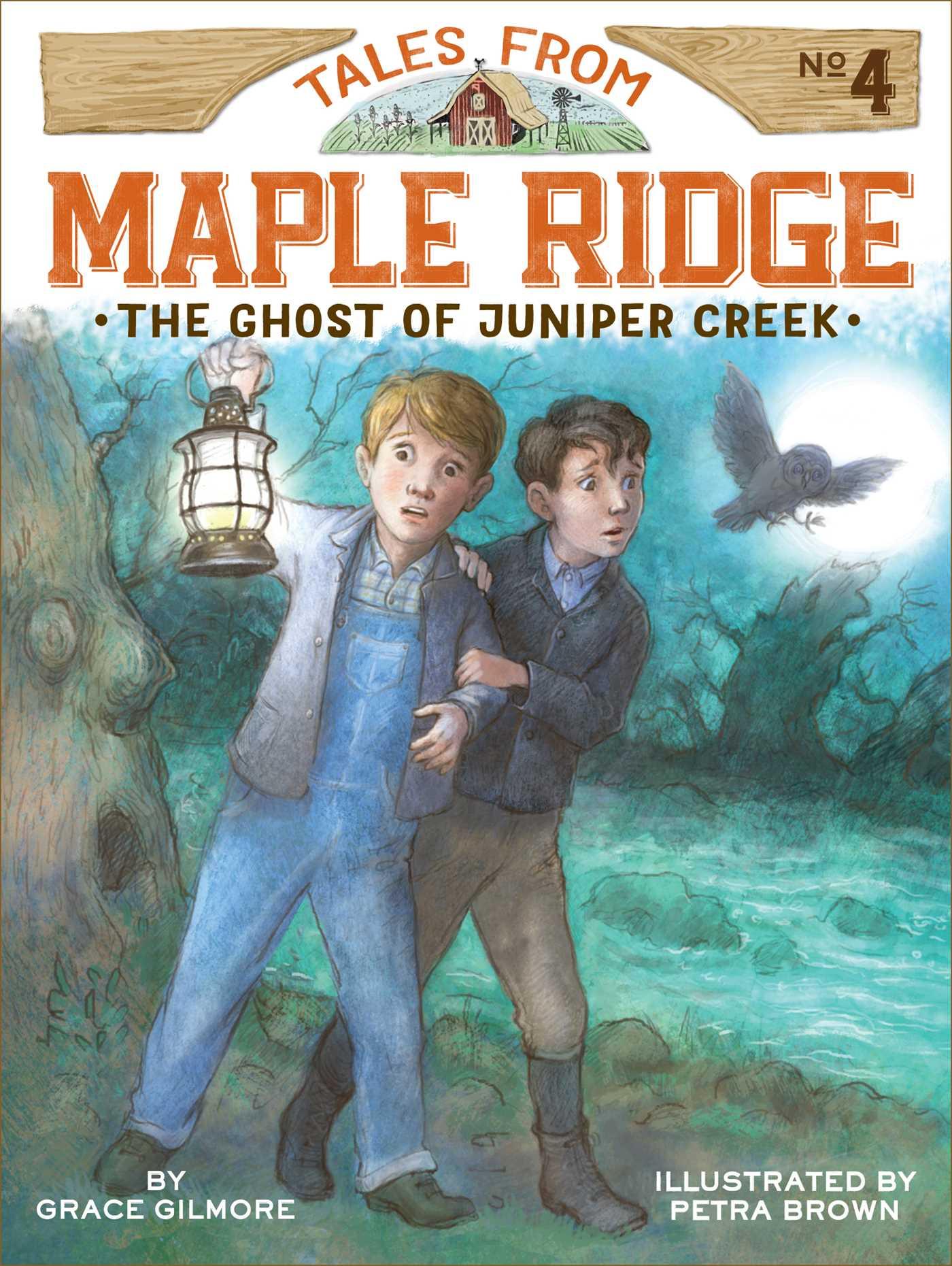 The ghost of juniper creek 9781481430111 hr