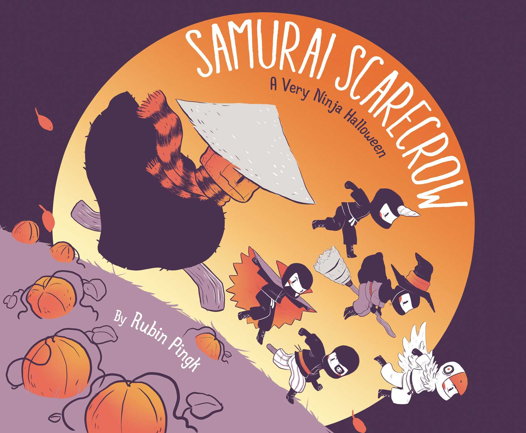 Samurai scarecrow 9781481430593 hr