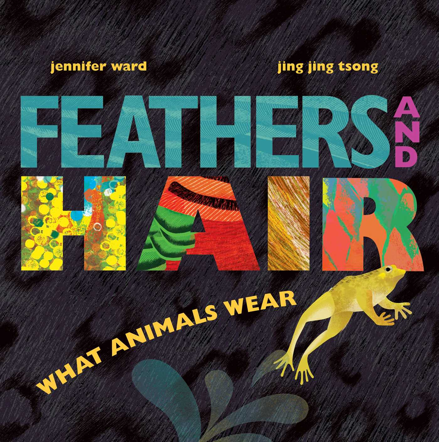 Feathers and hair what animals wear 9781481430814 hr