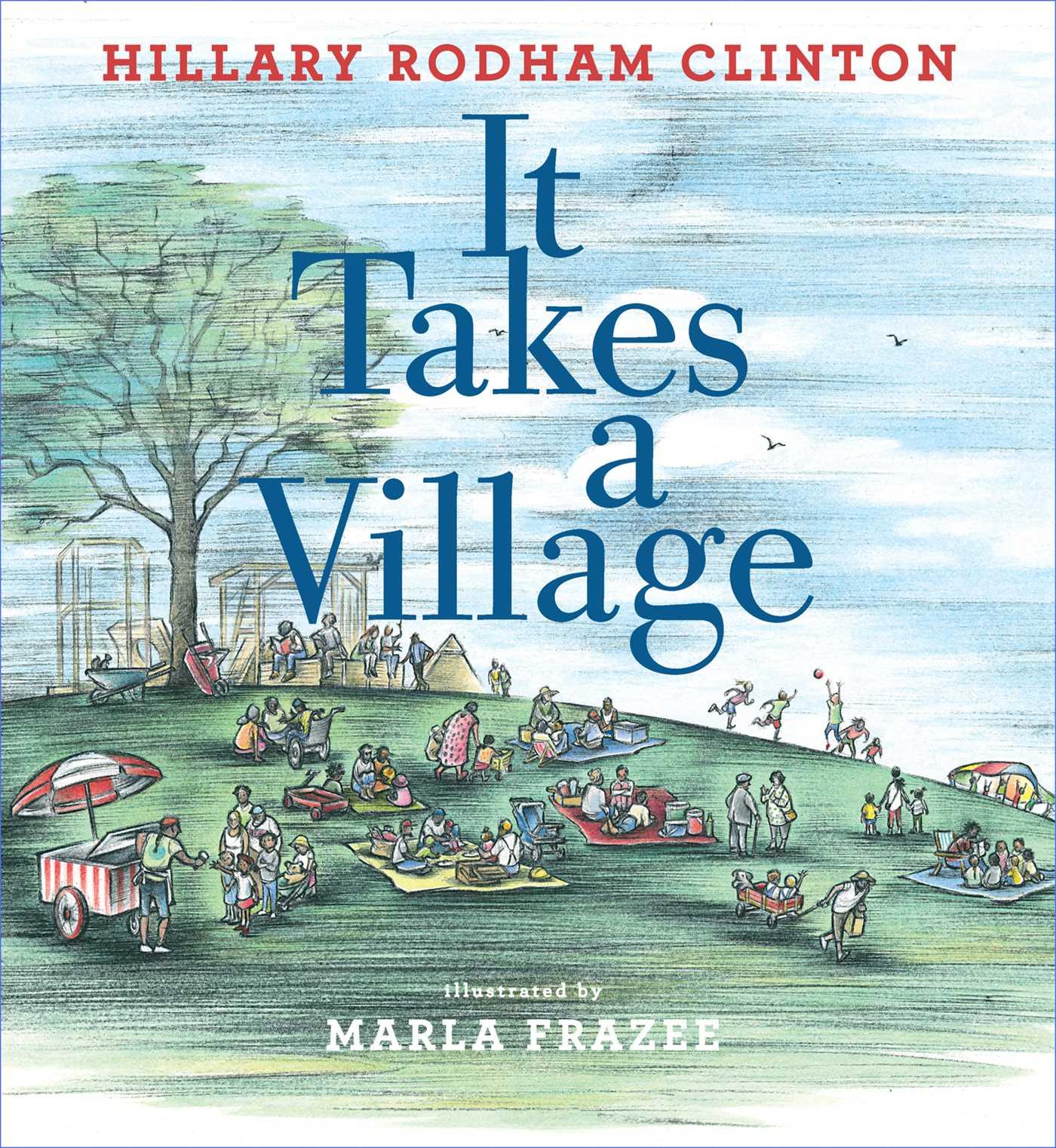 It takes a village 9781481430883 hr