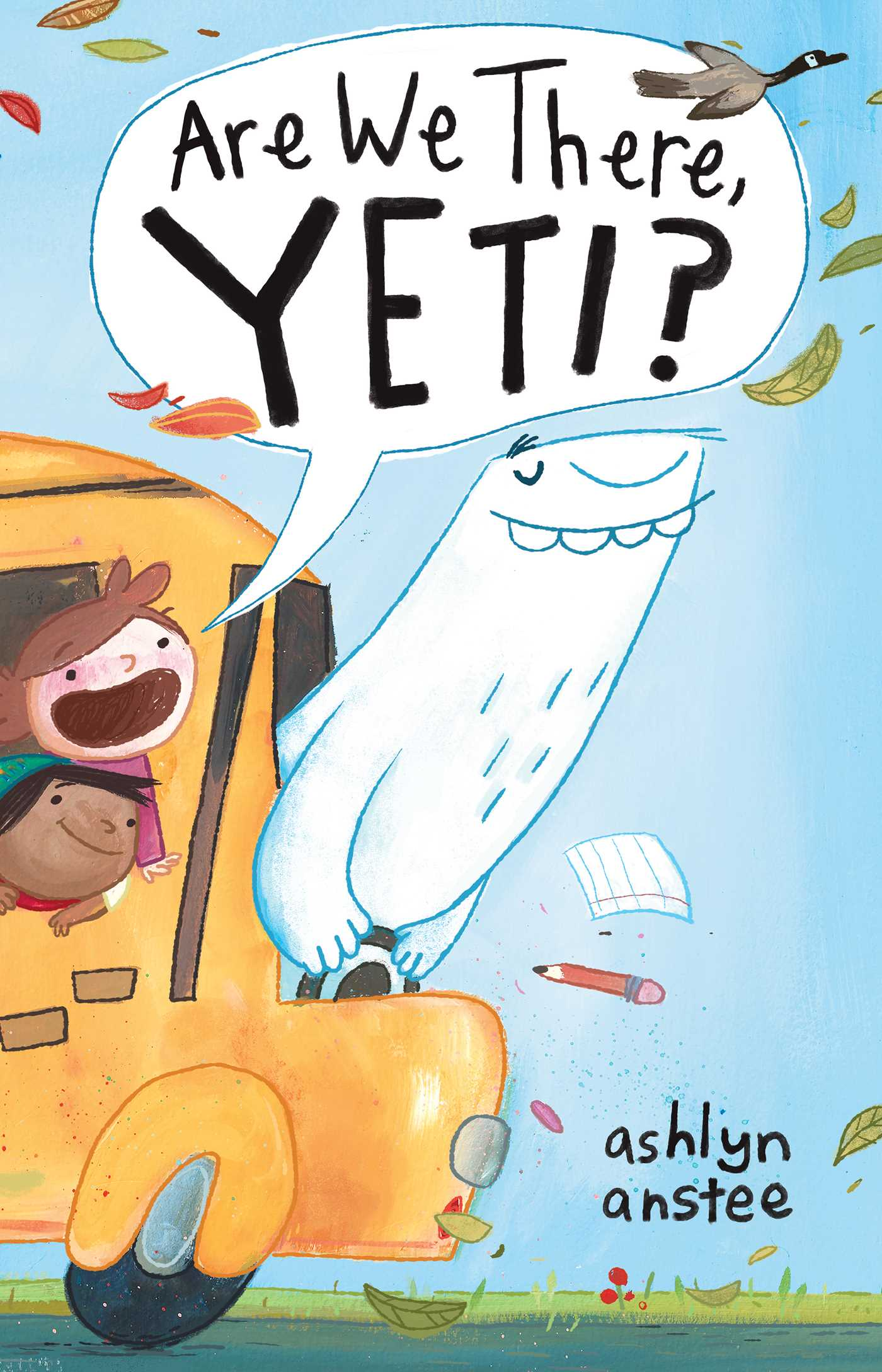 Are we there yeti 9781481430890 hr