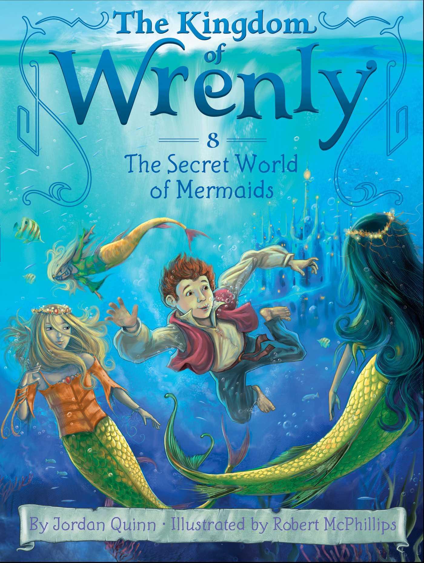 The secret world of mermaids 9781481431248 hr
