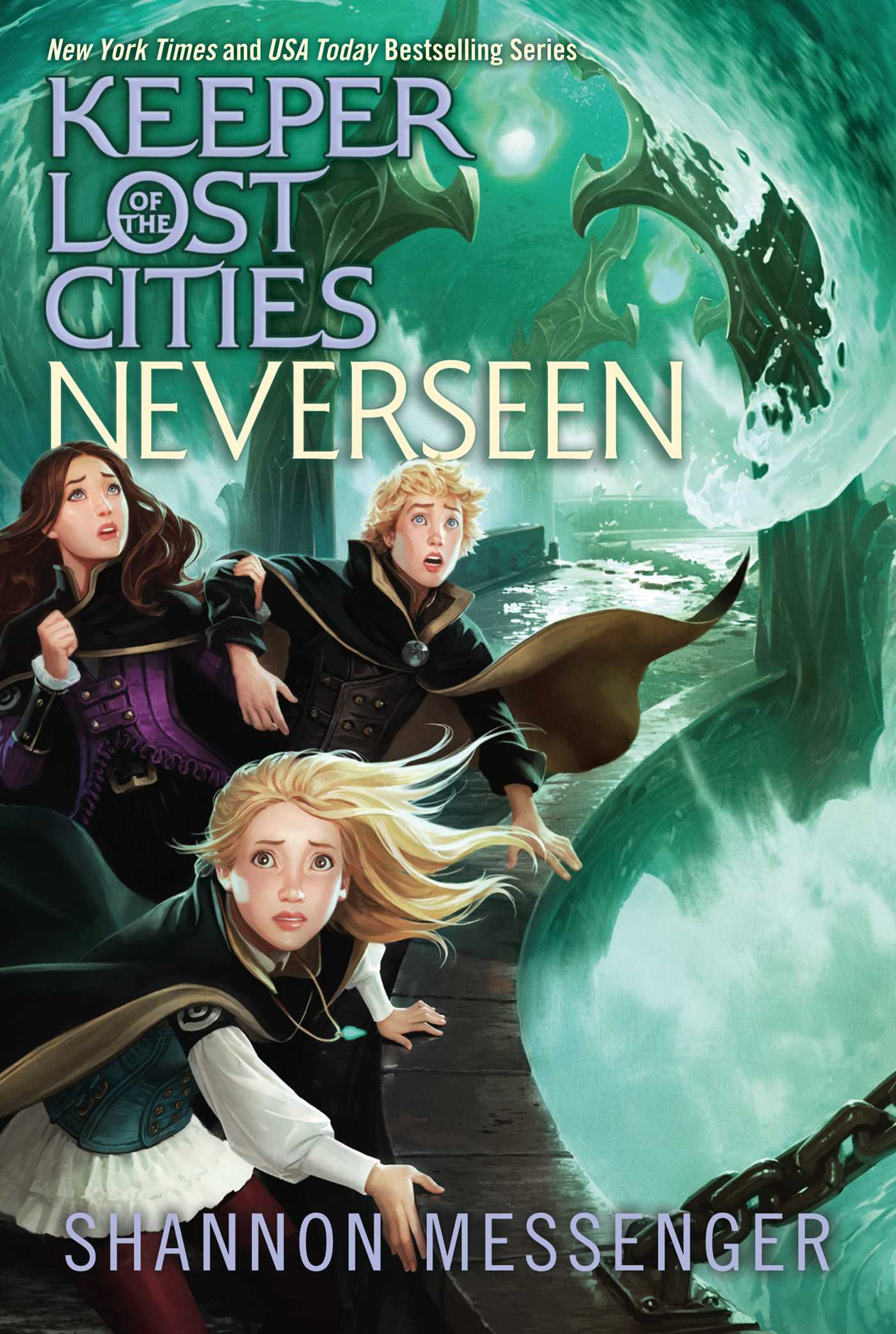 Neverseen Book By Shannon Messenger Official Publisher