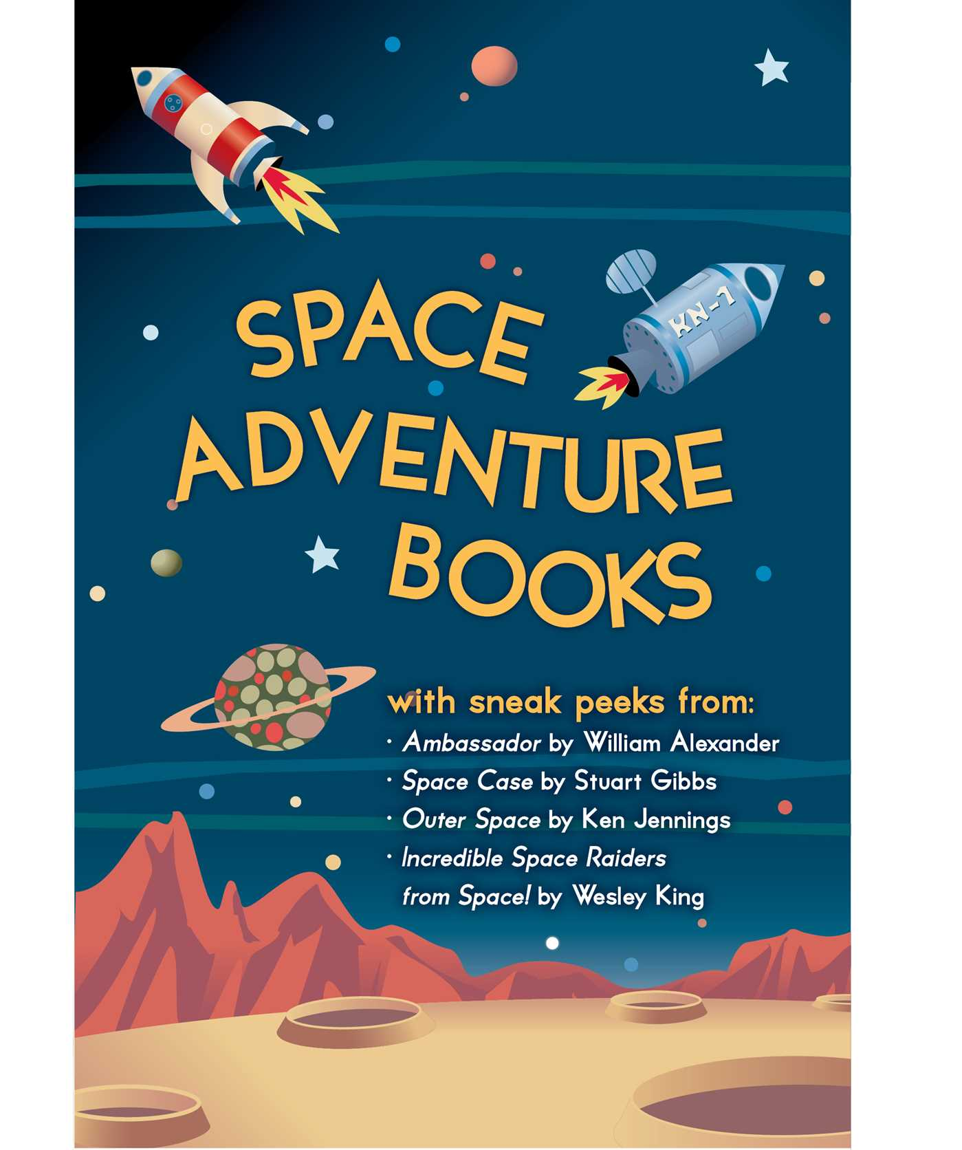 Space adventure books sampler 9781481434973 hr