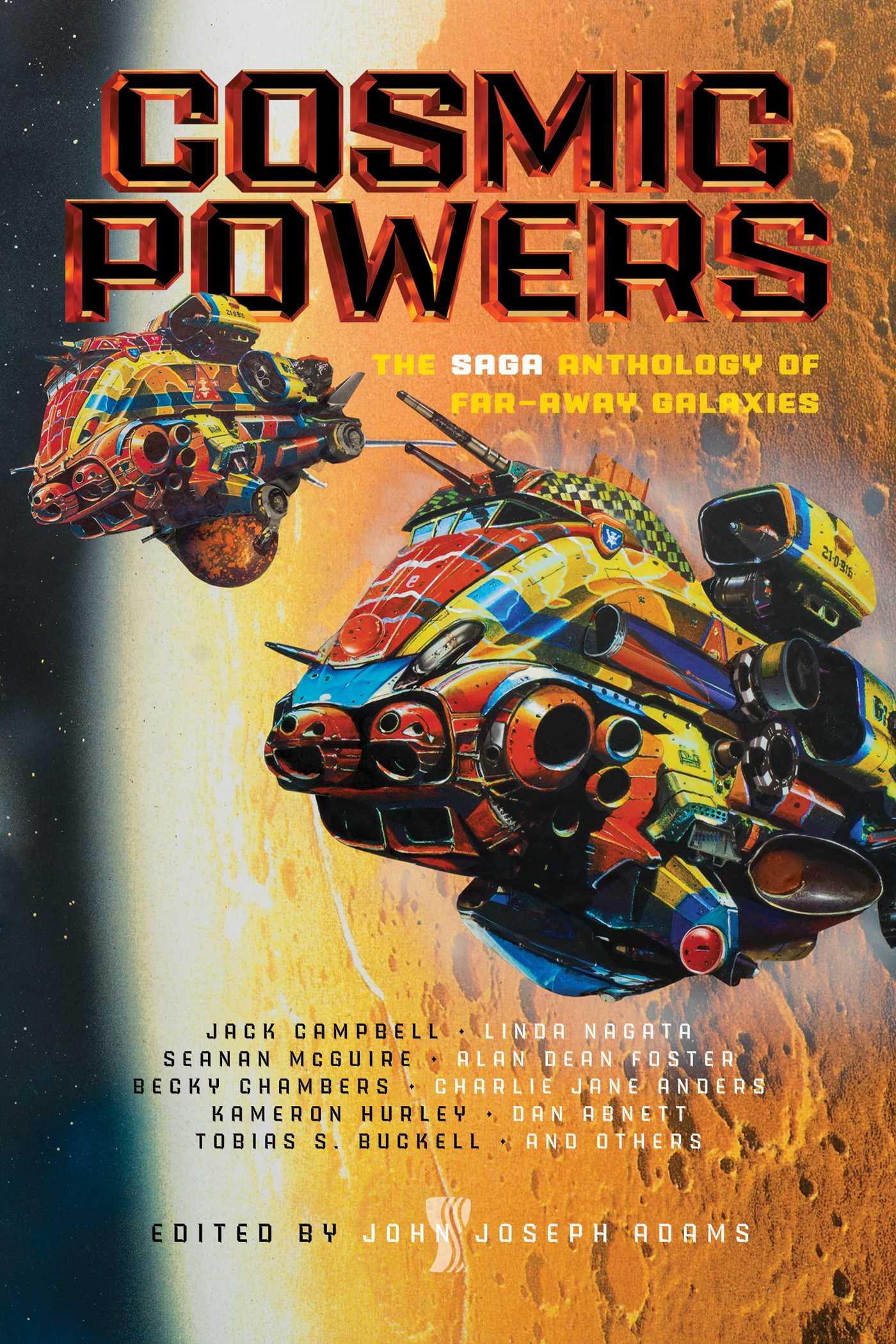 Cosmic Powers | Book by John Joseph Adams | Official