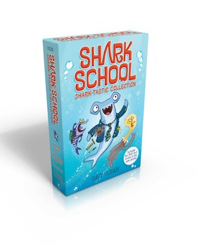 Shark School Shark-tastic Collection Books 1-4