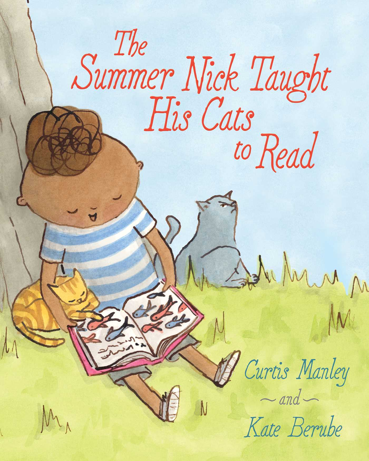 The summer nick taught his cats to read 9781481435697 hr