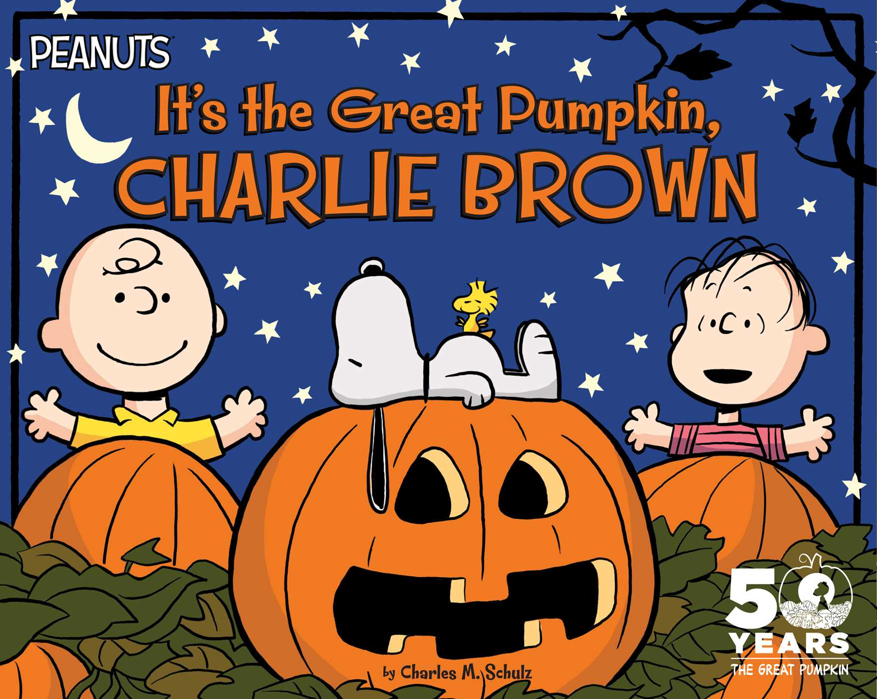 It 39 s the great pumpkin charlie brown book by charles m for Charlie brown pumpkin template