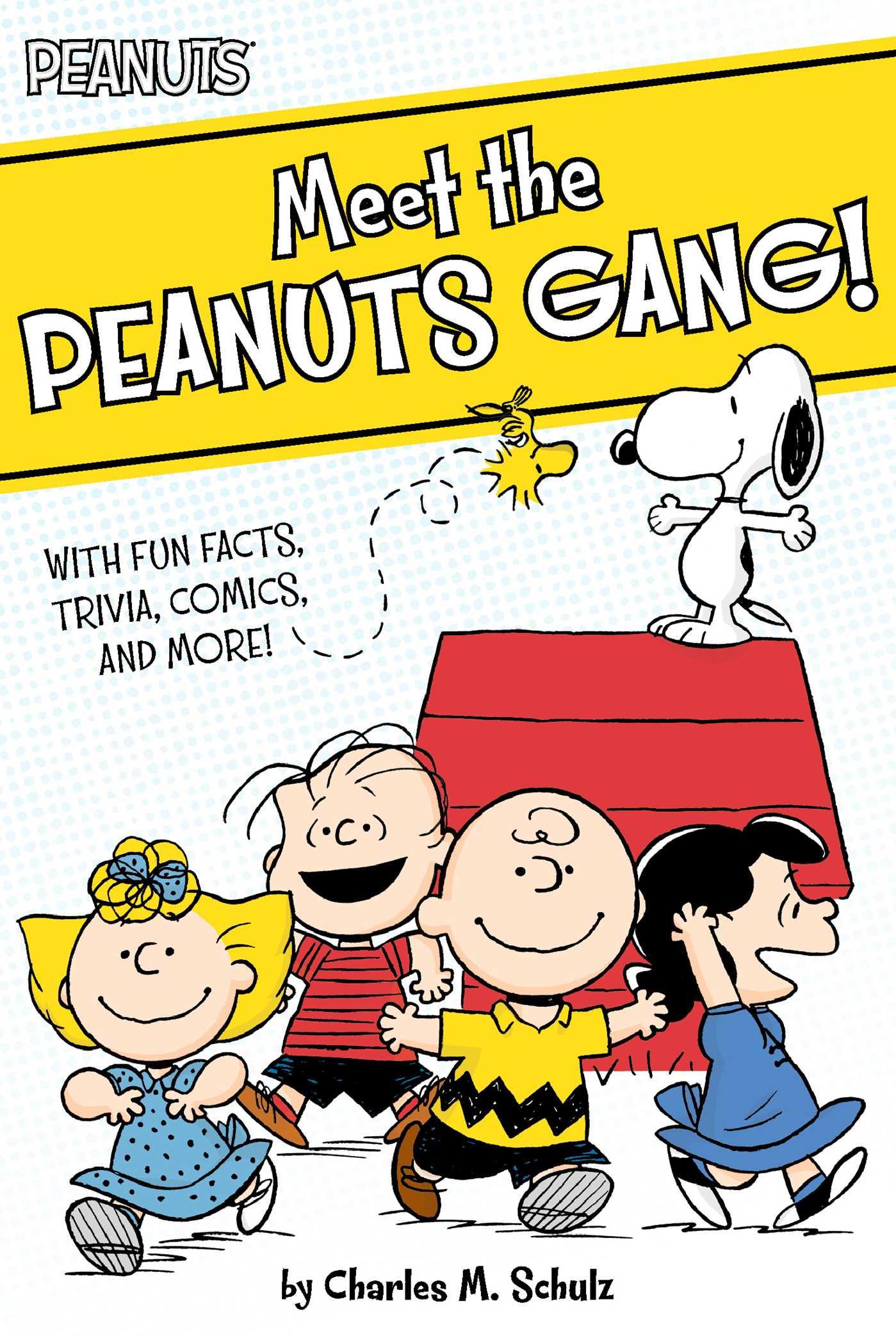 peanuts characters meet the gang
