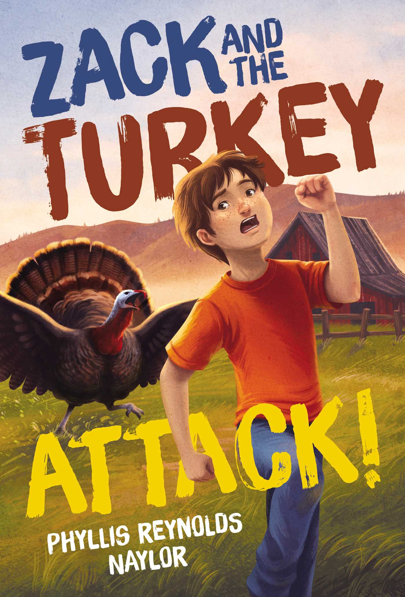 Zack and the turkey attack 9781481437790 hr
