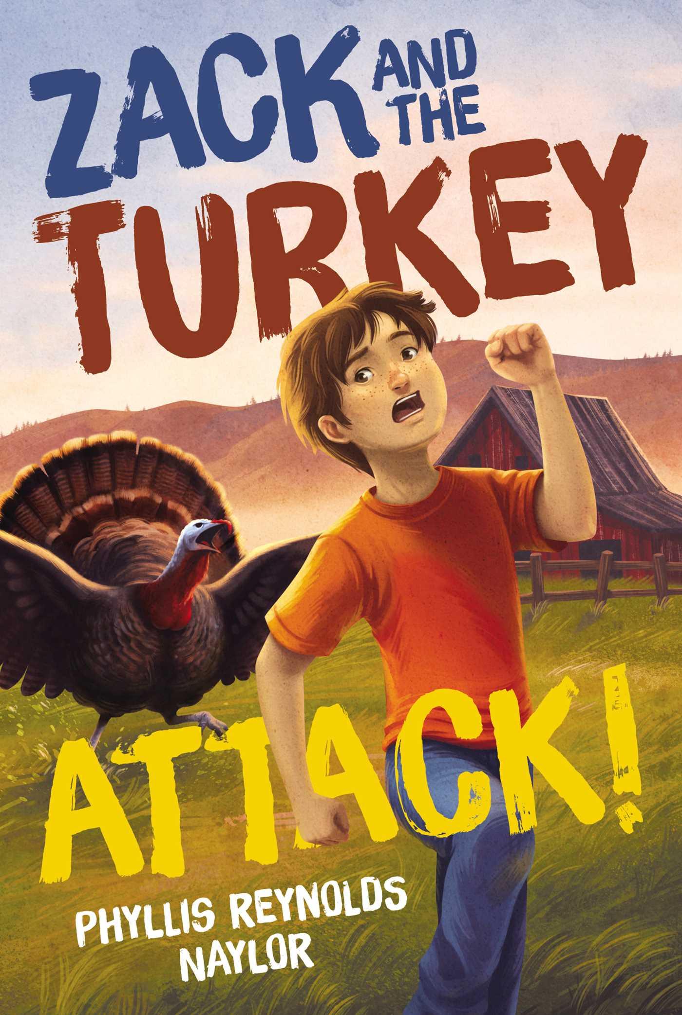 Zack and the turkey attack 9781481437806 hr