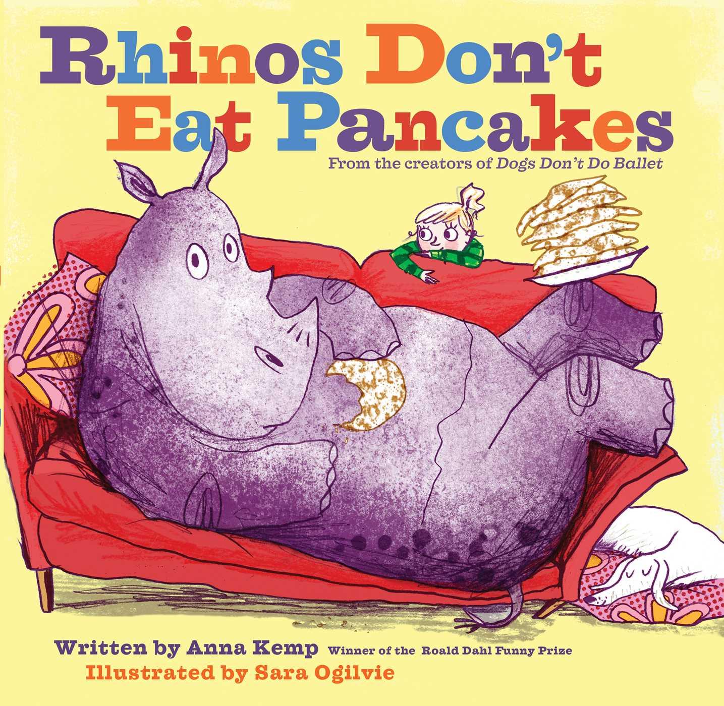 Rhinos dont eat pancakes 9781481438452 hr