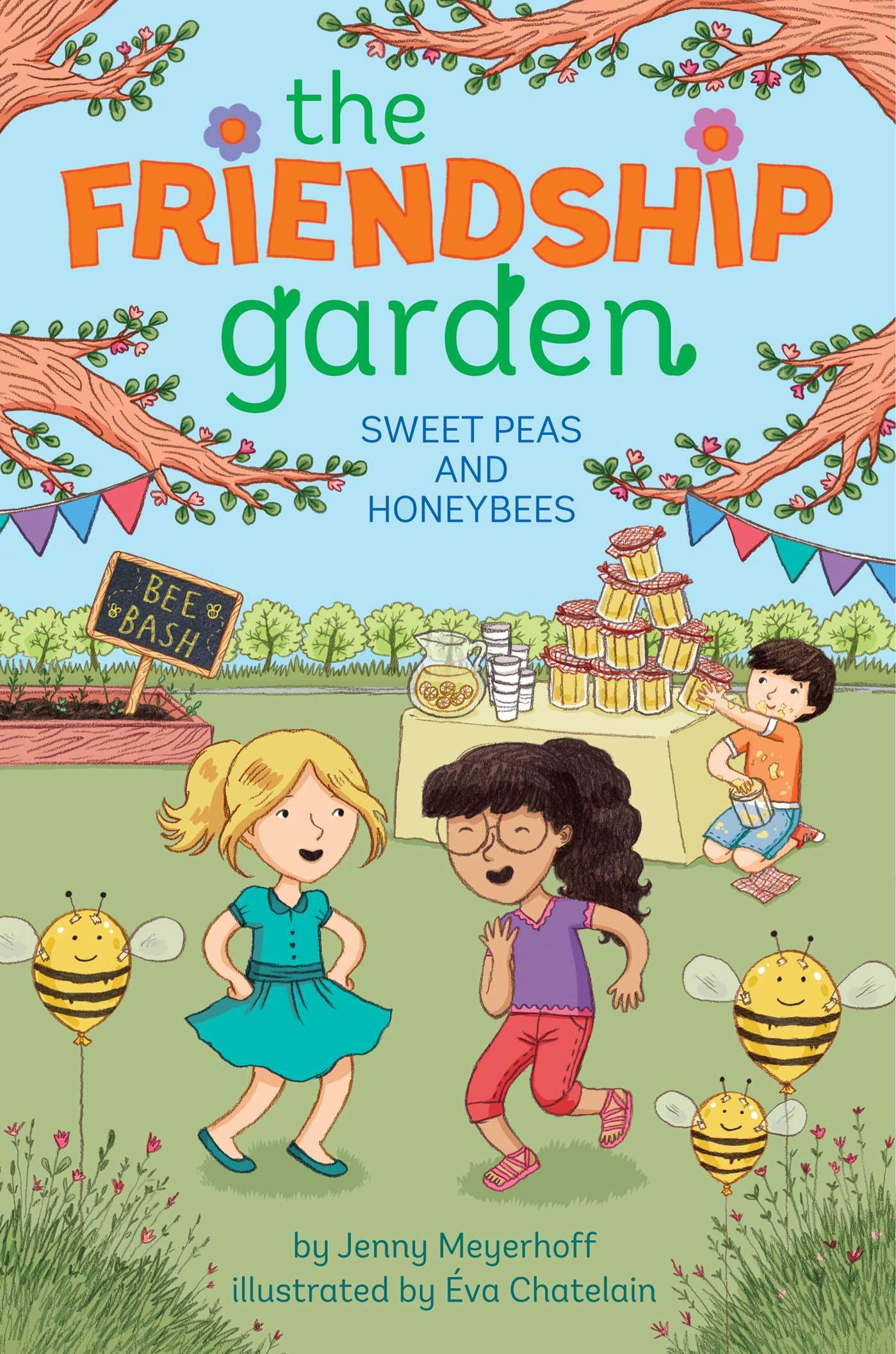 Sweet peas and honeybees 9781481439190 hr