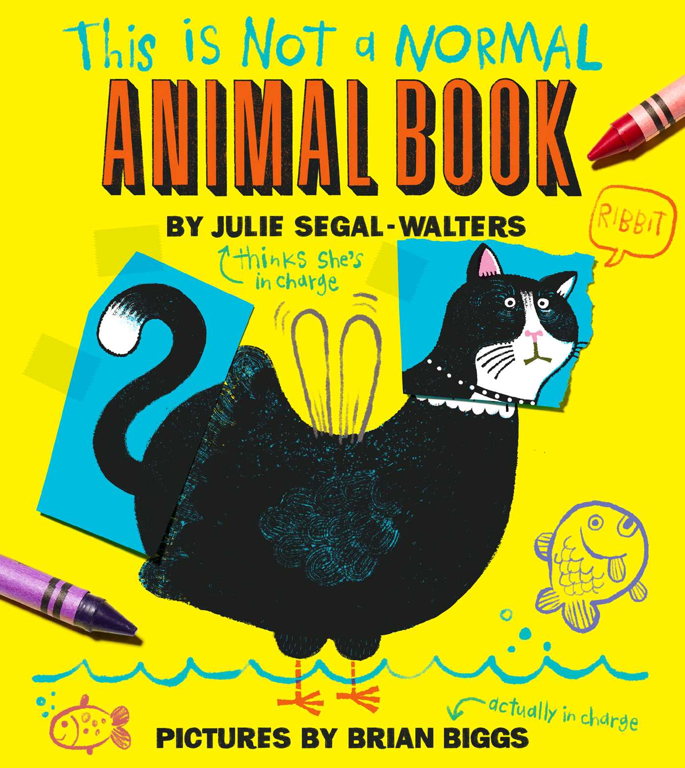 This is not a normal animal book 9781481439220 hr